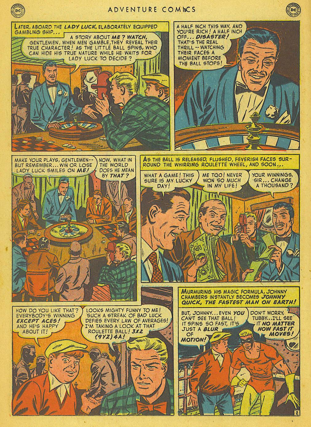 Read online Adventure Comics (1938) comic -  Issue #153 - 25