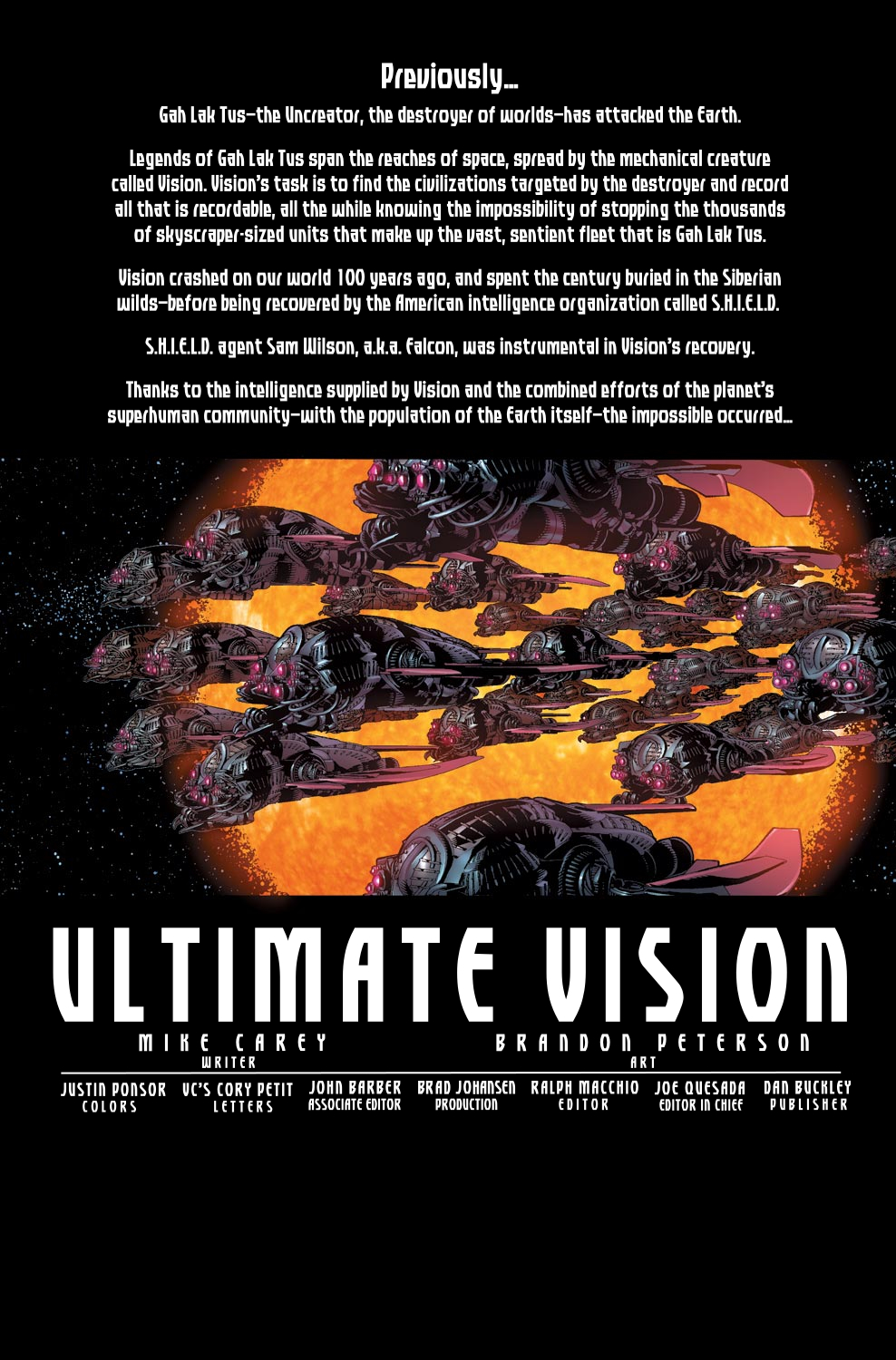 Read online Ultimate Vision comic -  Issue #1 - 3