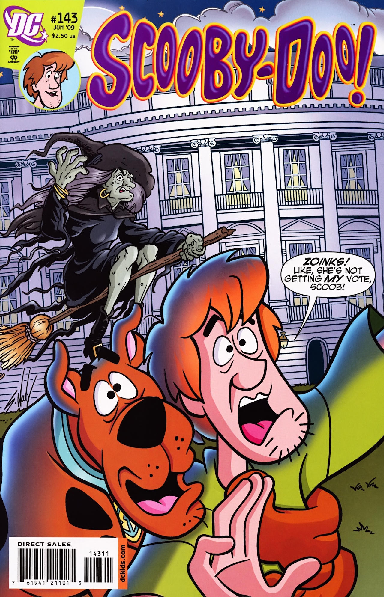 Read online Scooby-Doo (1997) comic -  Issue #143 - 1