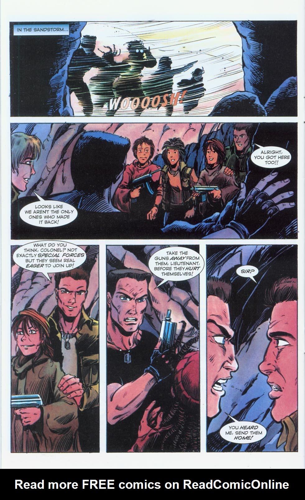 Read online Stargate comic -  Issue #3 - 21