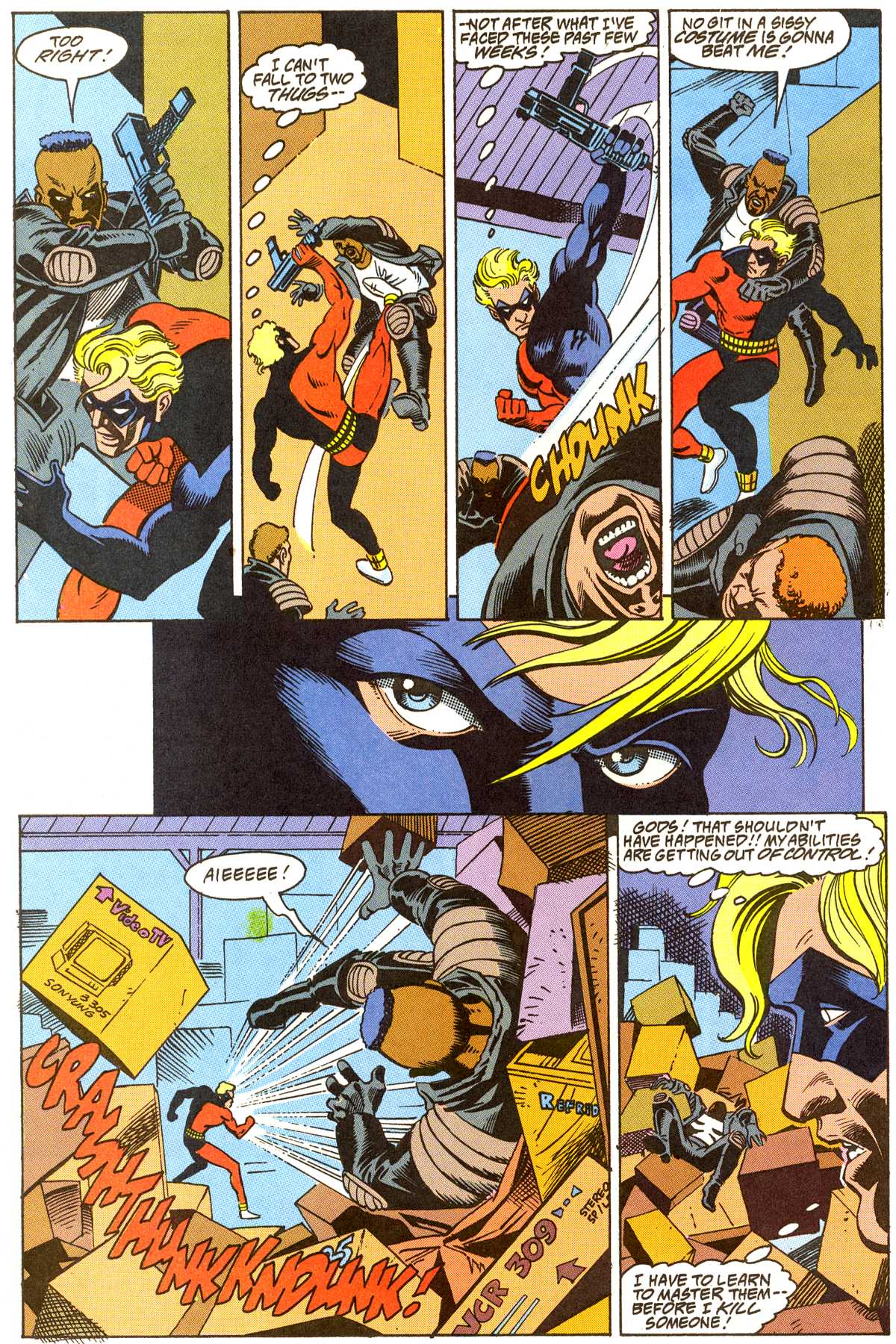 Read online Peter Cannon--Thunderbolt (1992) comic -  Issue #8 - 21