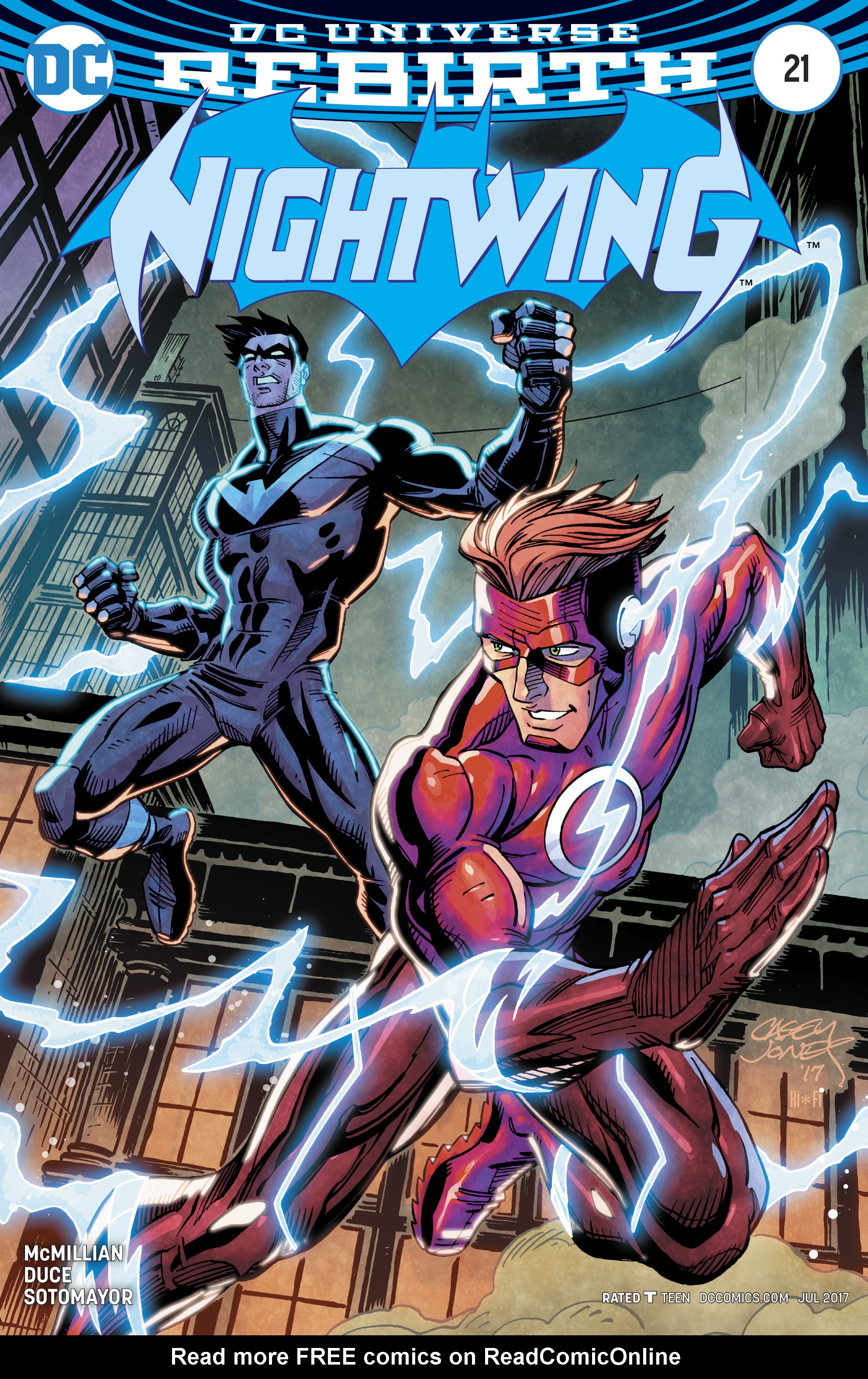 Read online Nightwing (2016) comic -  Issue #21 - 2