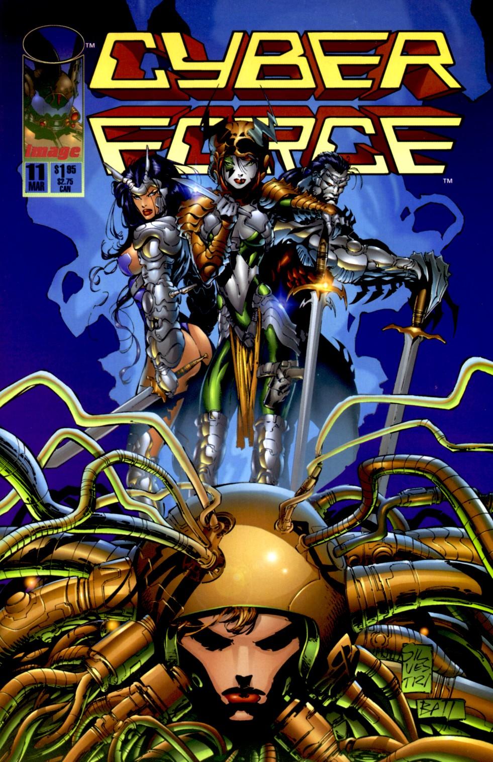 Cyberforce (1993) 11 Page 1