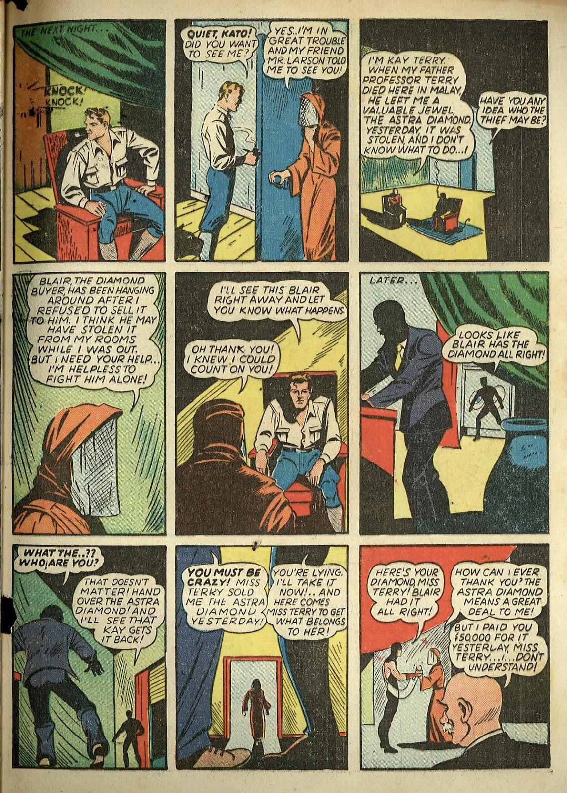 Read online Super-Magician Comics comic -  Issue #1 - 65