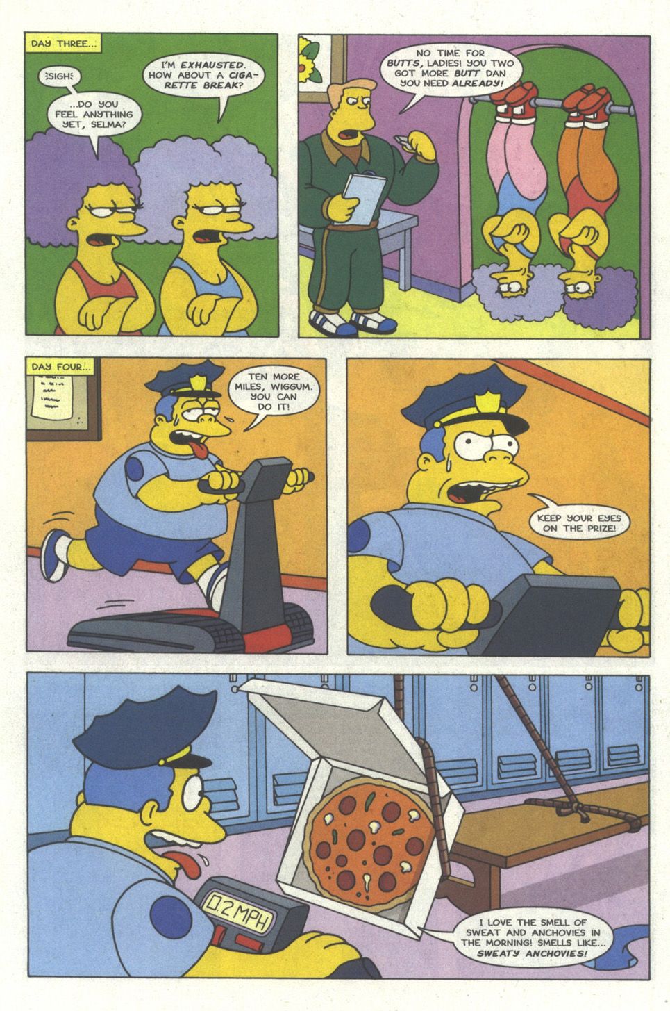 Read online Simpsons Comics comic -  Issue #18 - 10
