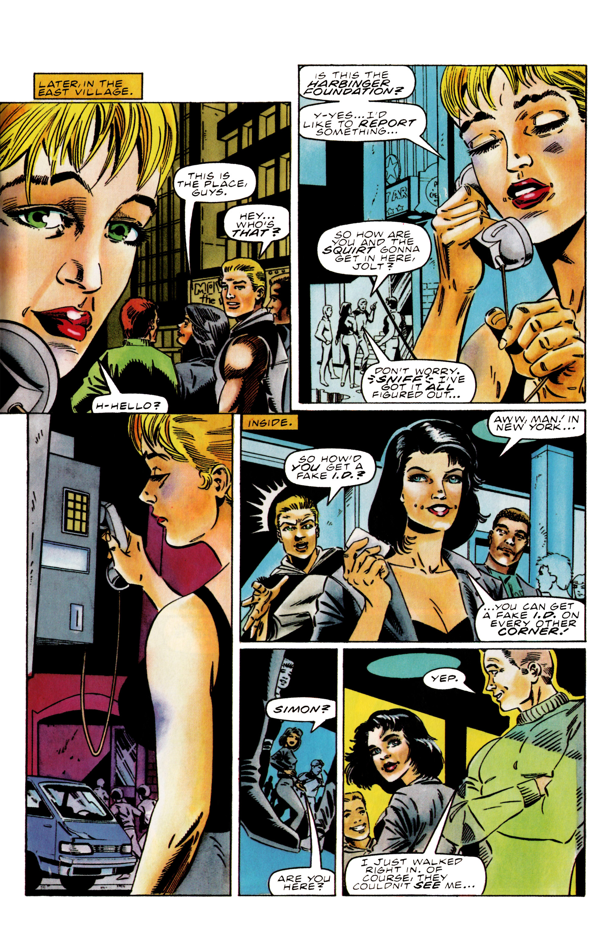 Read online Harbinger (1992) comic -  Issue #38 - 13