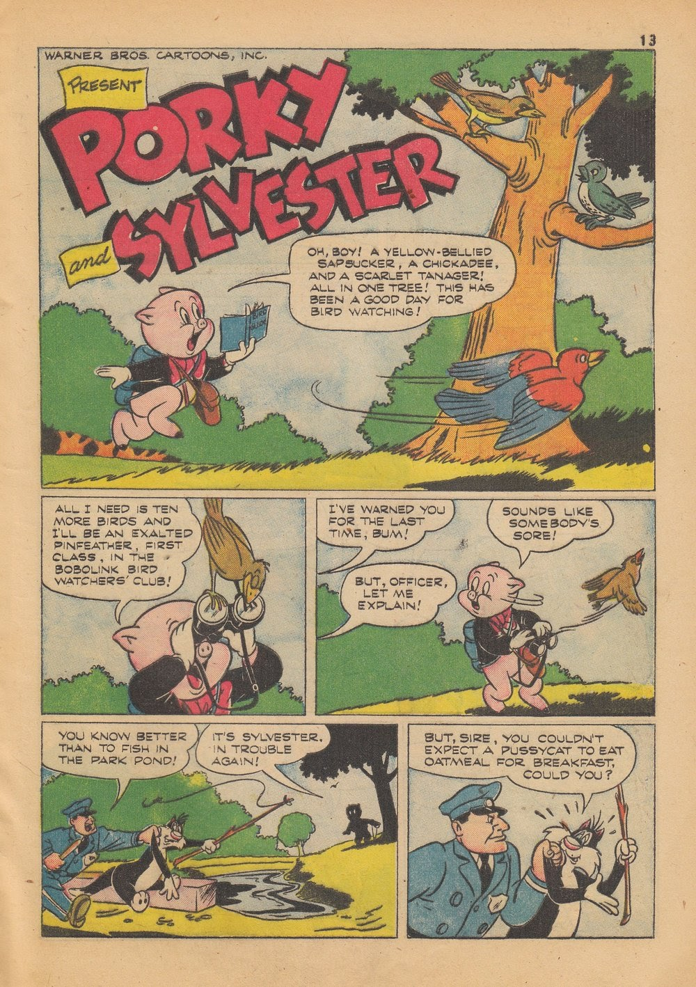 Bugs Bunny's Christmas Funnies issue TPB 4 - Page 15