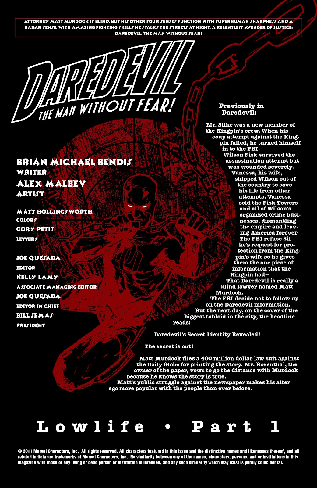 Read online Daredevil (1998) comic -  Issue # _Ultimate_Collection TPB 2 (Part 1) - 4