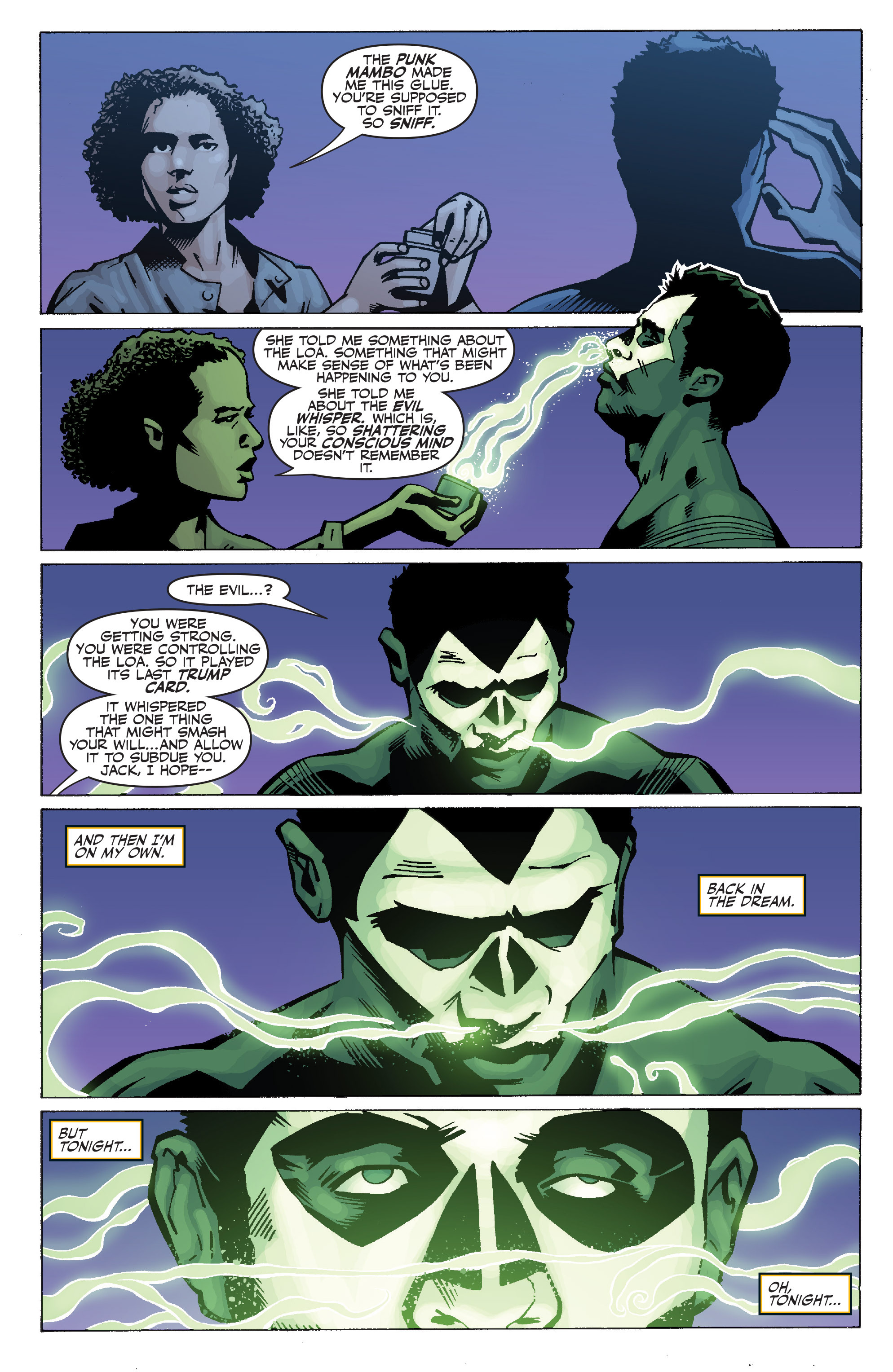 Read online Shadowman: End Times comic -  Issue #1 - 22