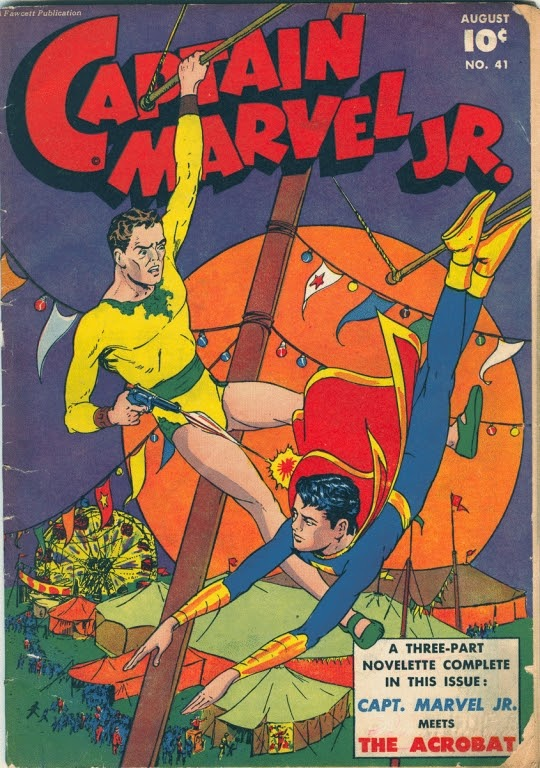 Captain Marvel, Jr. issue 41 - Page 1