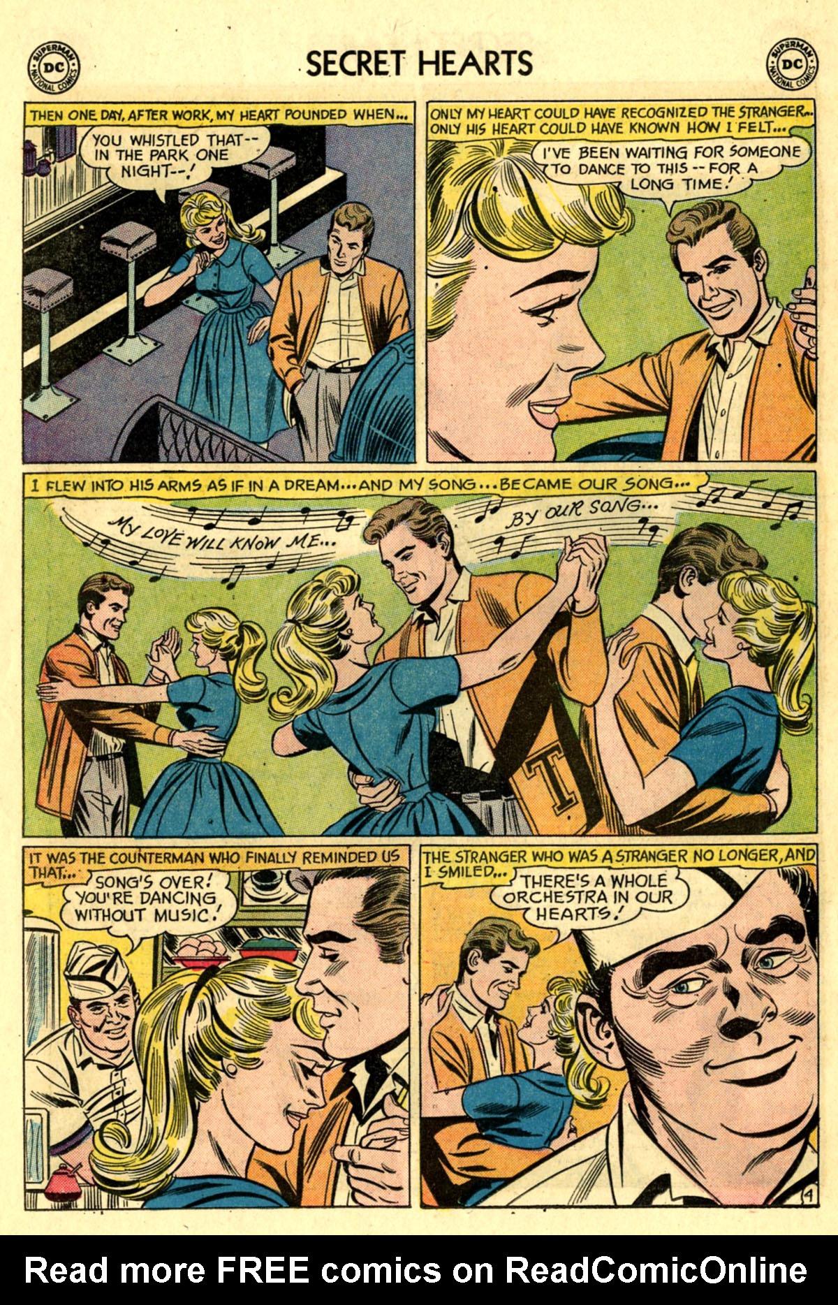Read online Secret Hearts comic -  Issue #83 - 30