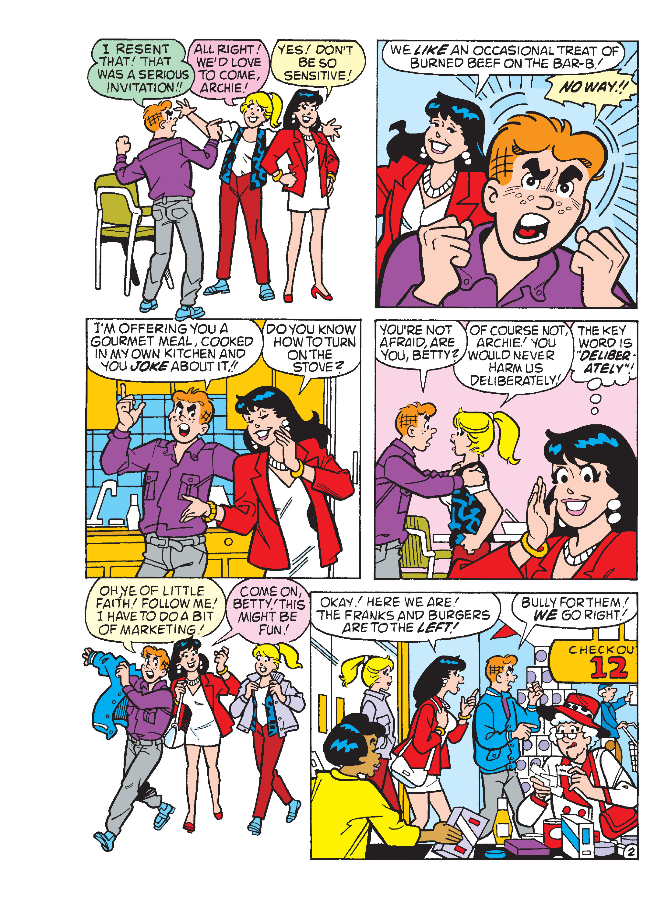 Read online World of Archie Double Digest comic -  Issue #64 - 89