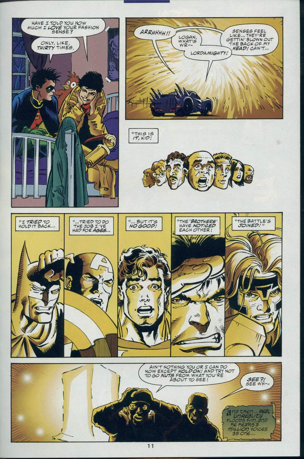 Read online DC Versus Marvel Comics comic -  Issue #2 - 13