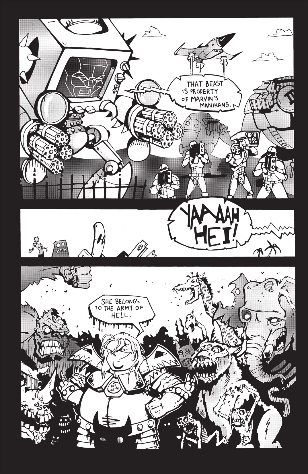 Read online Scud: The Disposable Assassin: The Whole Shebang comic -  Issue # TPB (Part 3) - 6