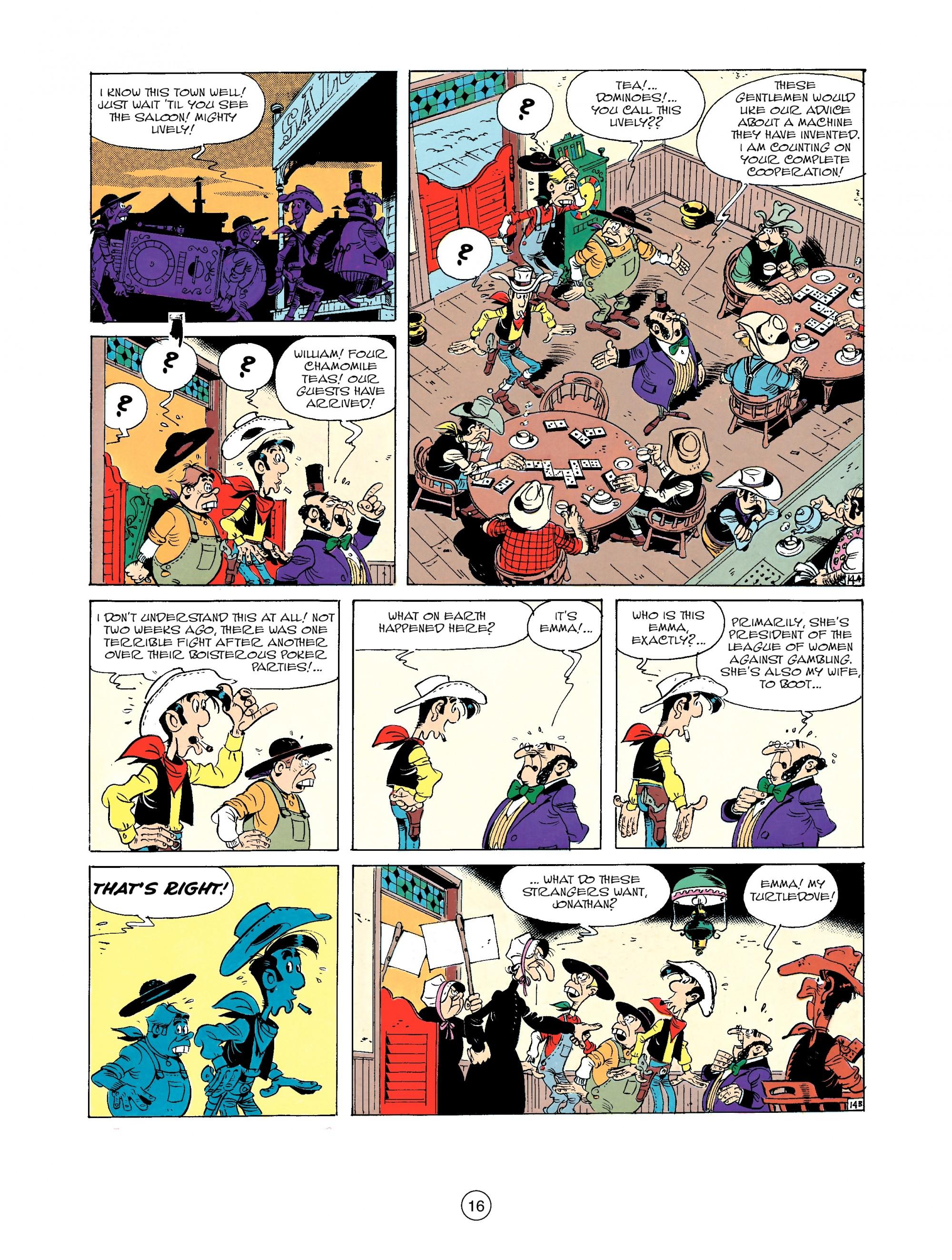 Read online A Lucky Luke Adventure comic -  Issue #33 - 16