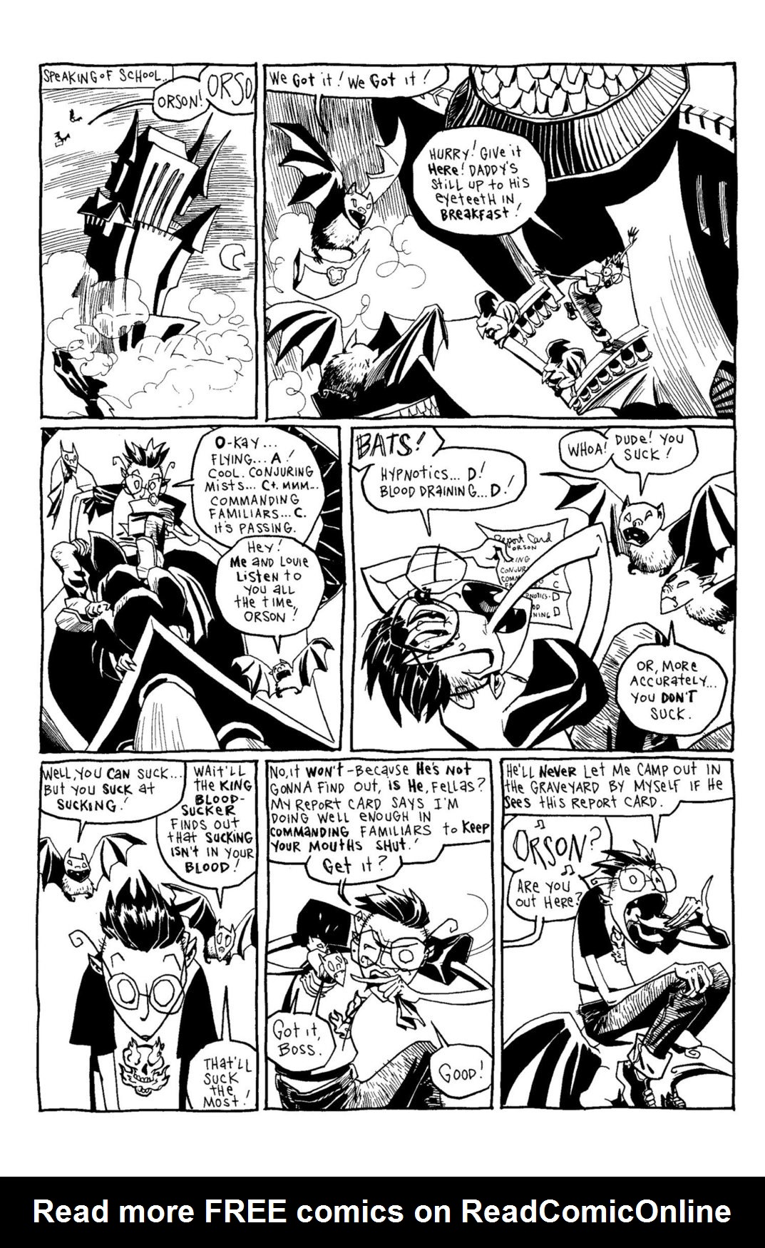 Read online Scary Godmother Comic Book Stories comic -  Issue # TPB - 150