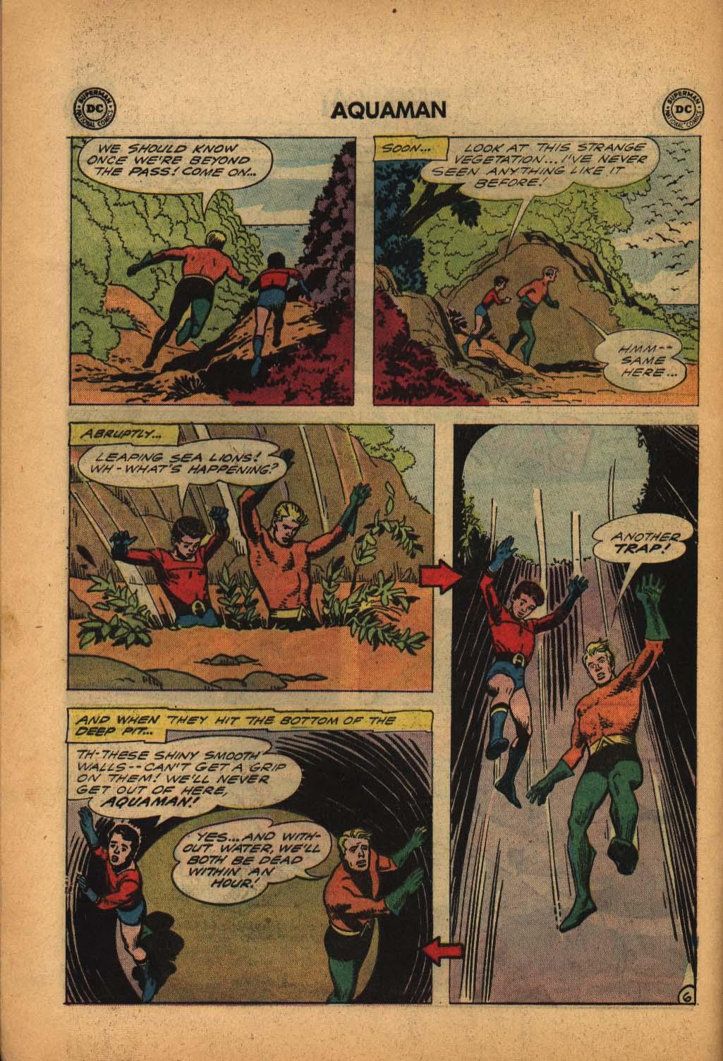 Read online Aquaman (1962) comic -  Issue #4 - 8