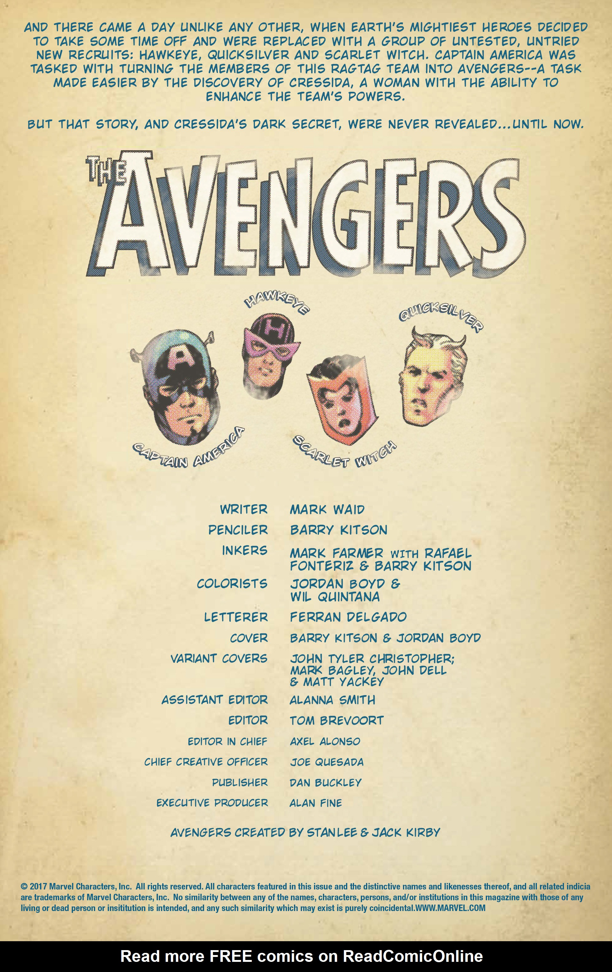 Read online Avengers (2016) comic -  Issue #3.1 - 2