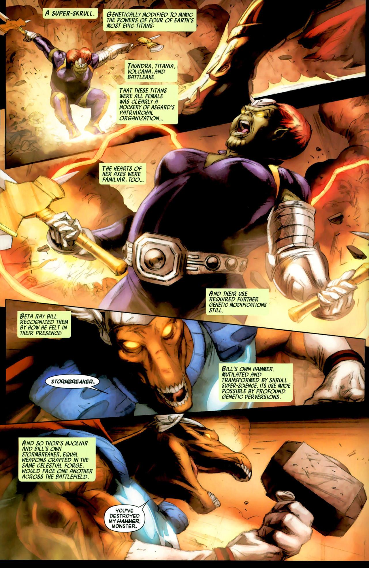 Read online Secret Invasion: Thor comic -  Issue #2 - 12