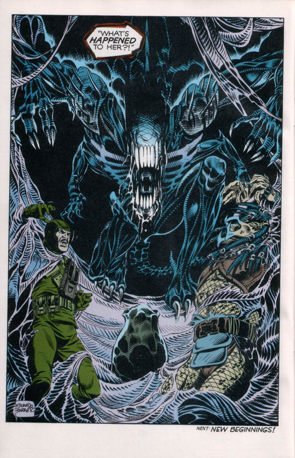 Read online Aliens/Predator: The Deadliest of the Species comic -  Issue #6 - 26