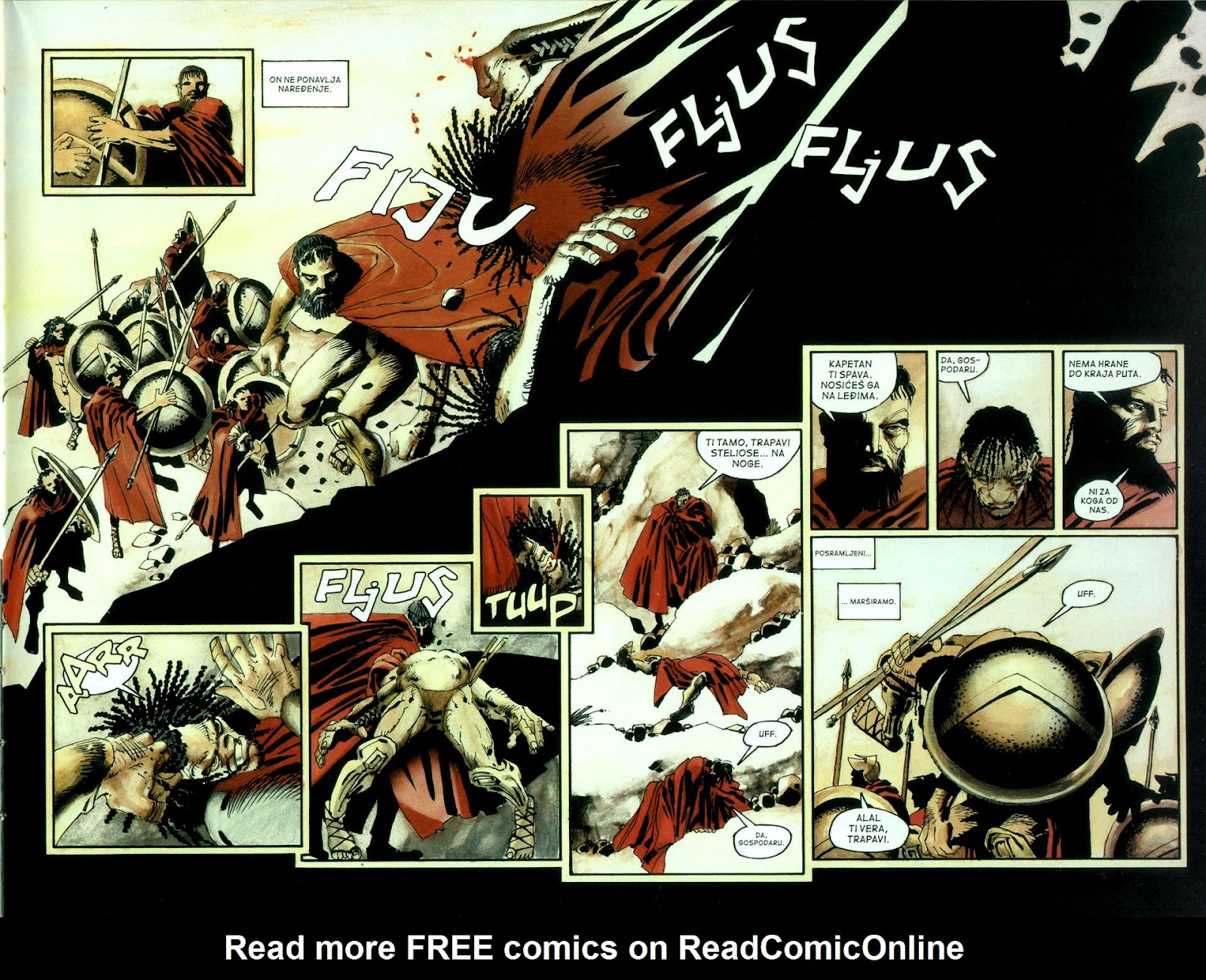Read online 300 (2007) comic -  Issue # TPB - 12