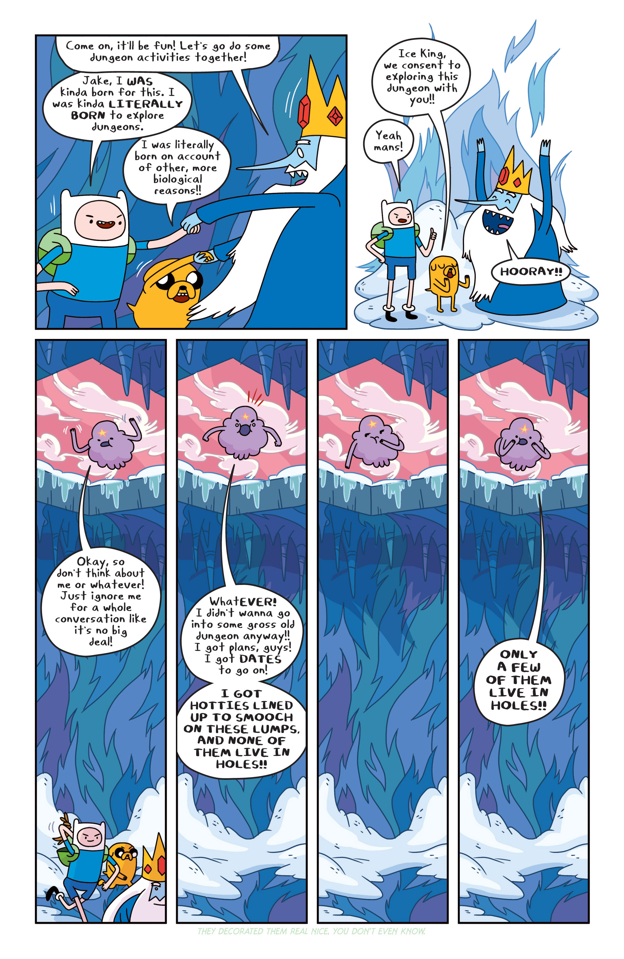 Read online Adventure Time comic -  Issue #16 - 12