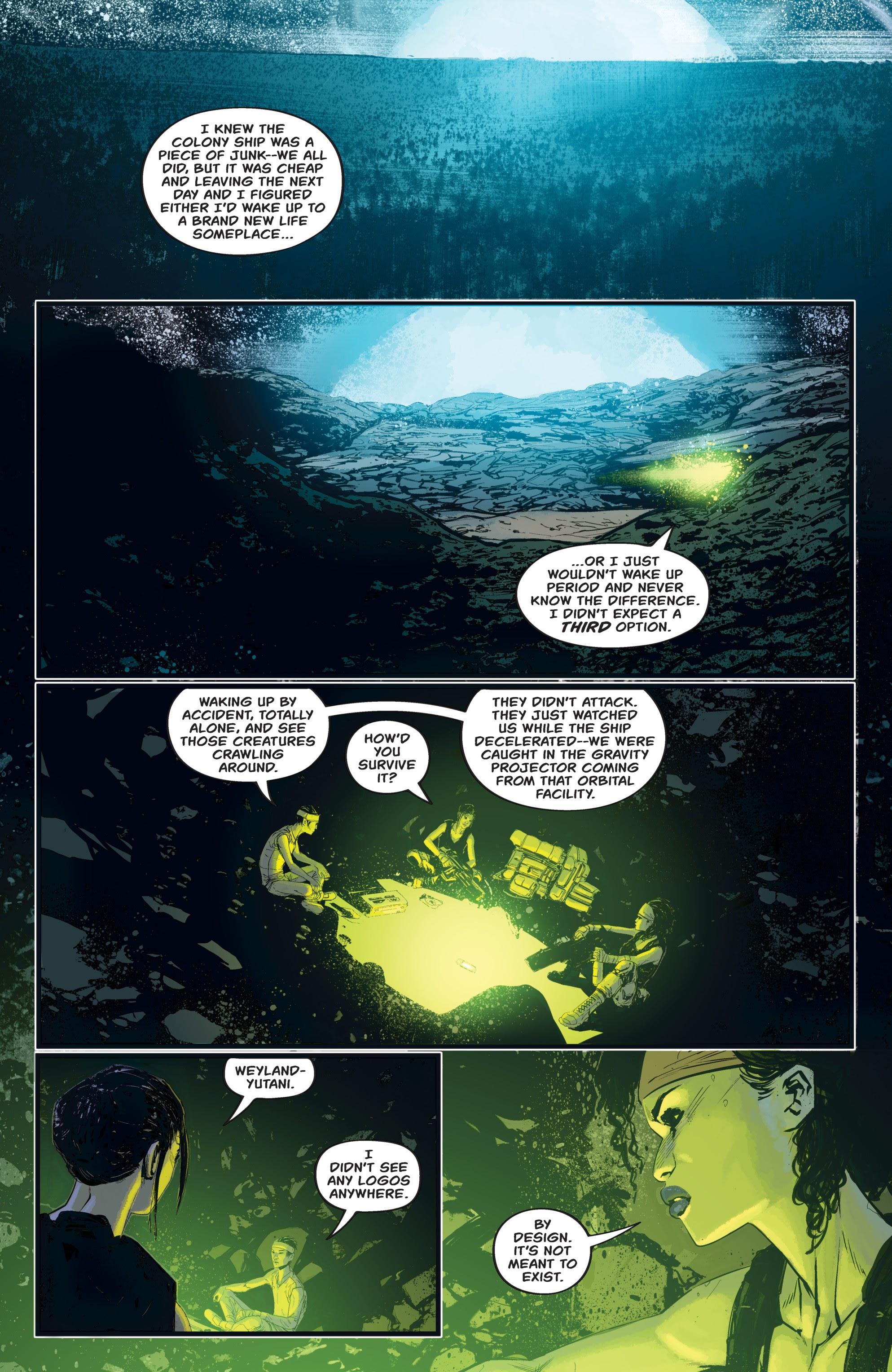 Read online Aliens: Resistance comic -  Issue # _TPB - 80