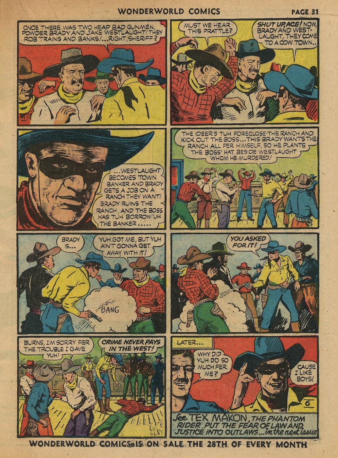 Wonderworld Comics issue 23 - Page 33