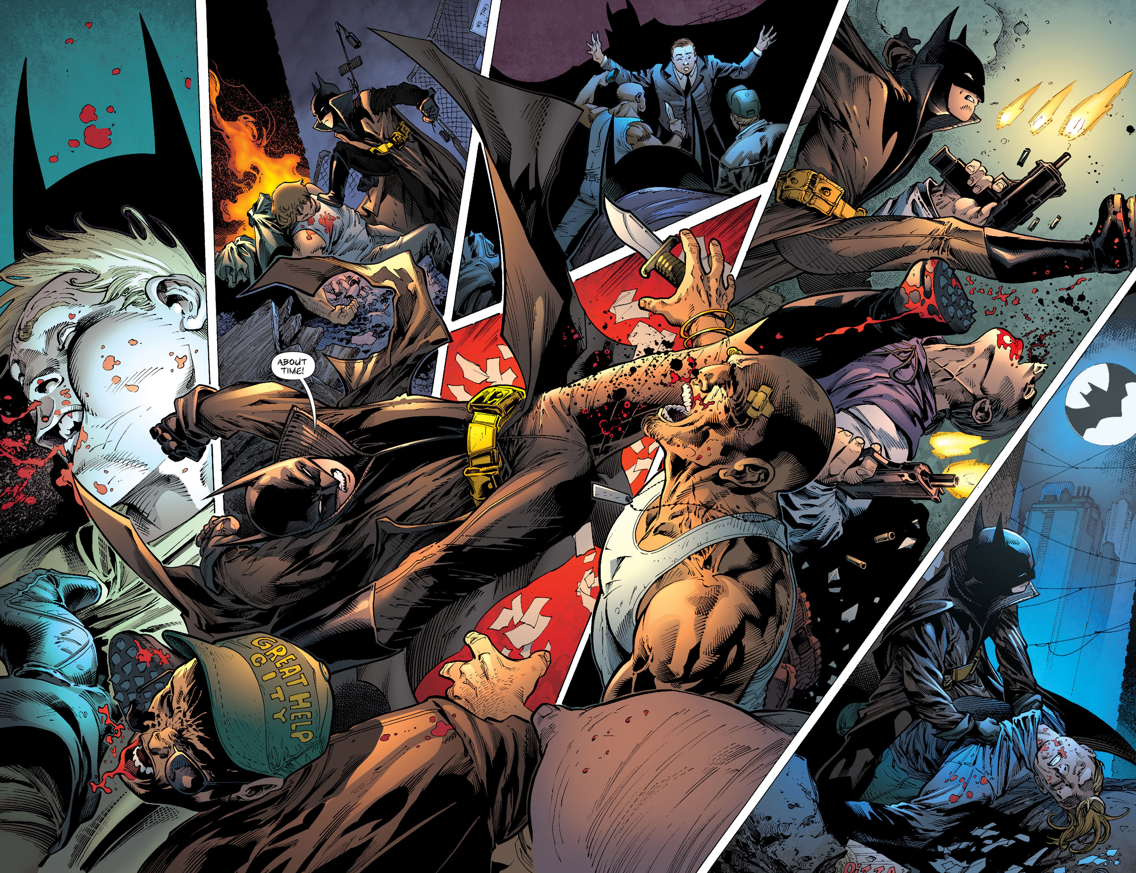 Read online Batman and Robin (2011) comic -  Issue # Annual 1 - 22