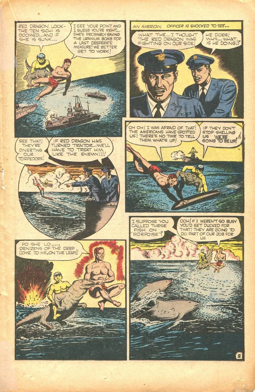 Read online Super-Magician Comics comic -  Issue #35 - 29