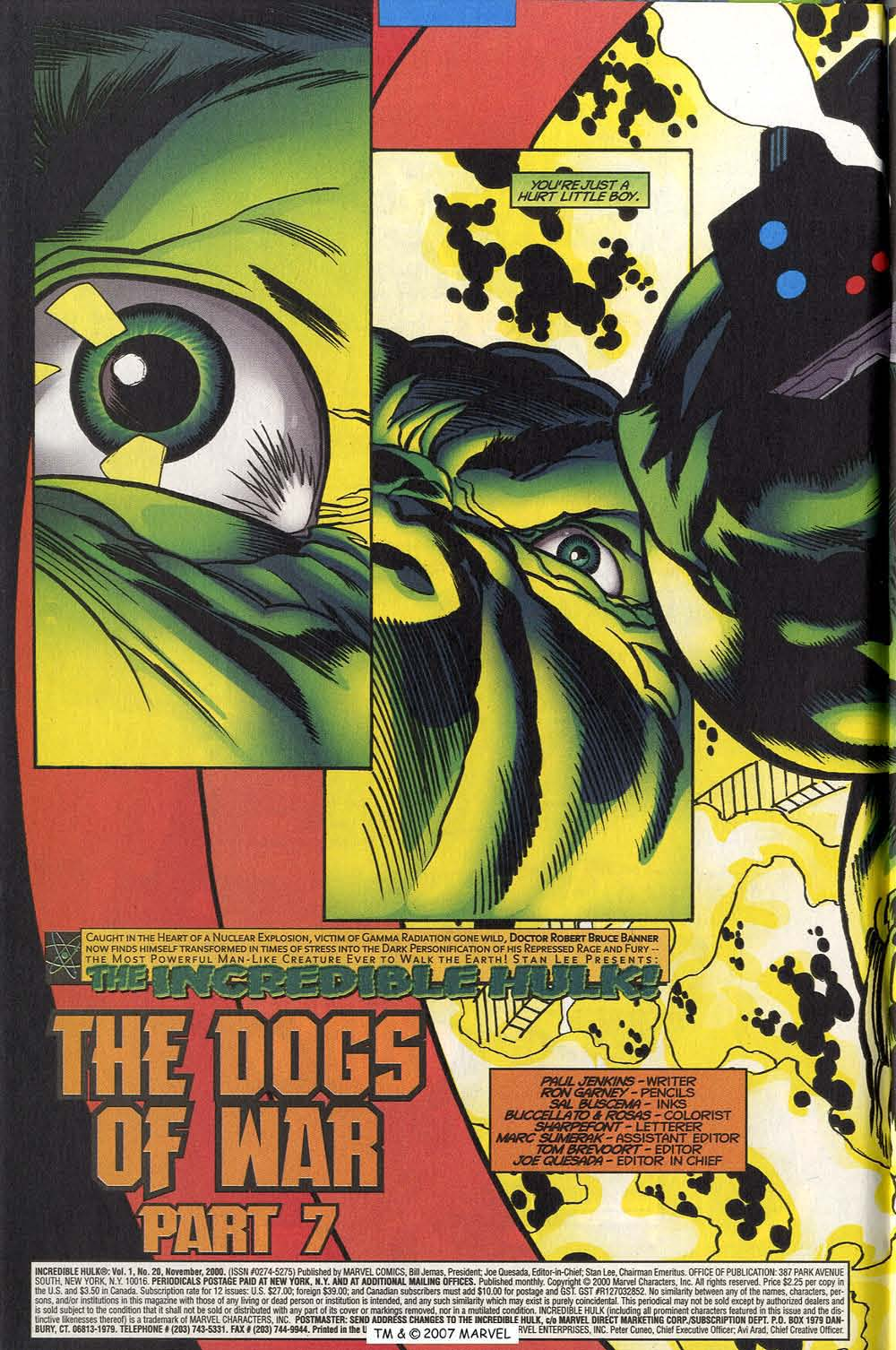 Read online The Incredible Hulk (2000) comic -  Issue #20 - 6