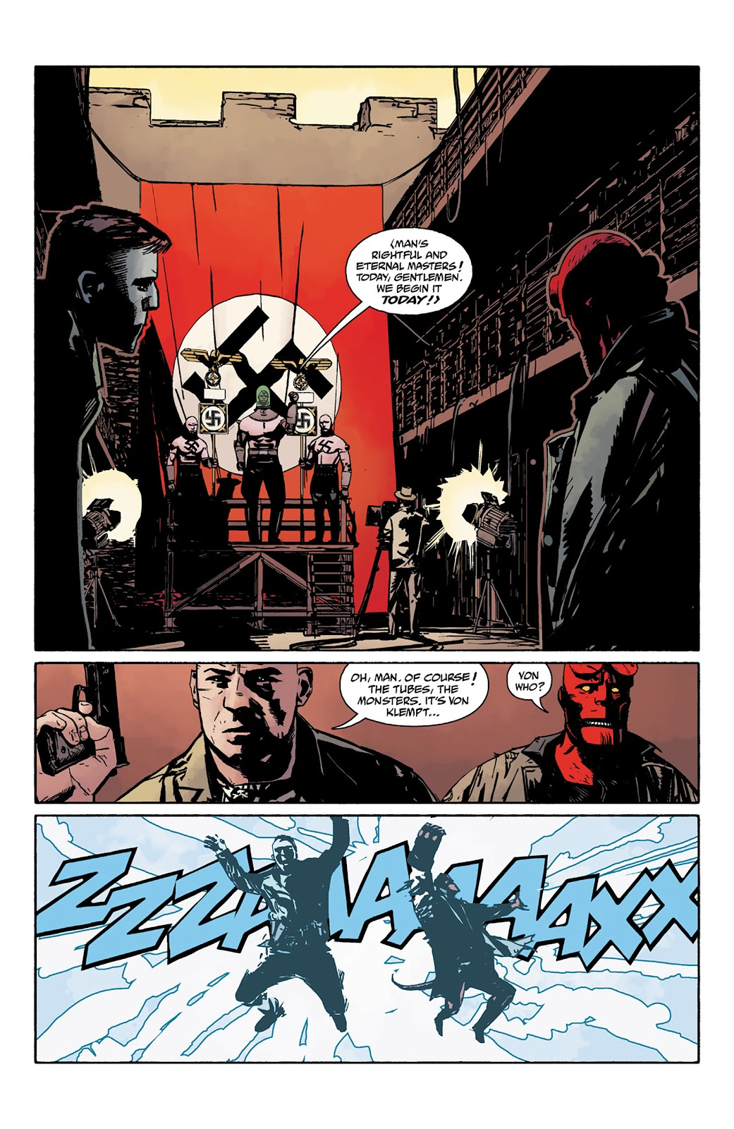 Read online Hellboy and the B.P.R.D. comic -  Issue # _TPB - 95