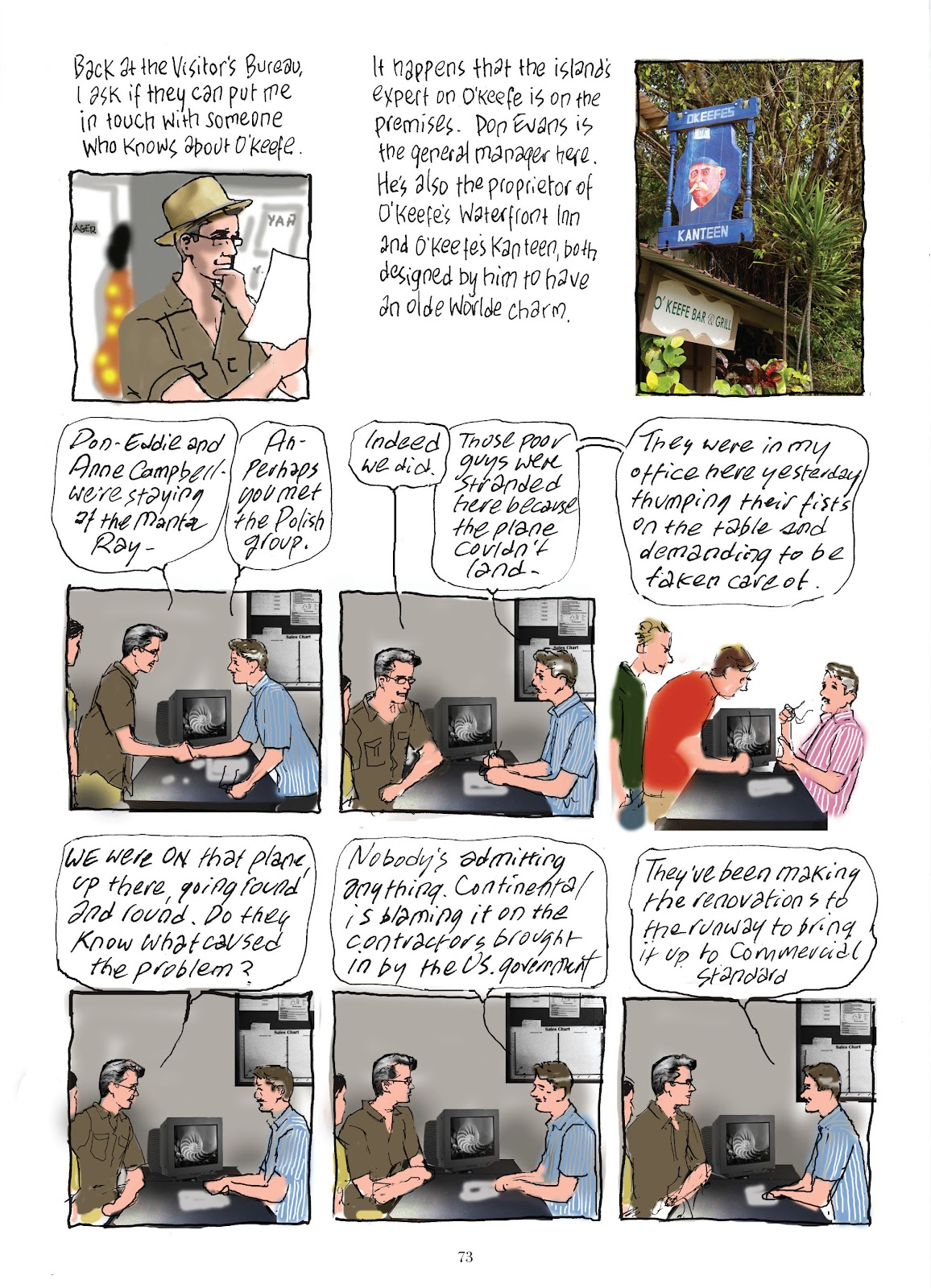 Read online The Lovely Horrible Stuff comic -  Issue # TPB - 75