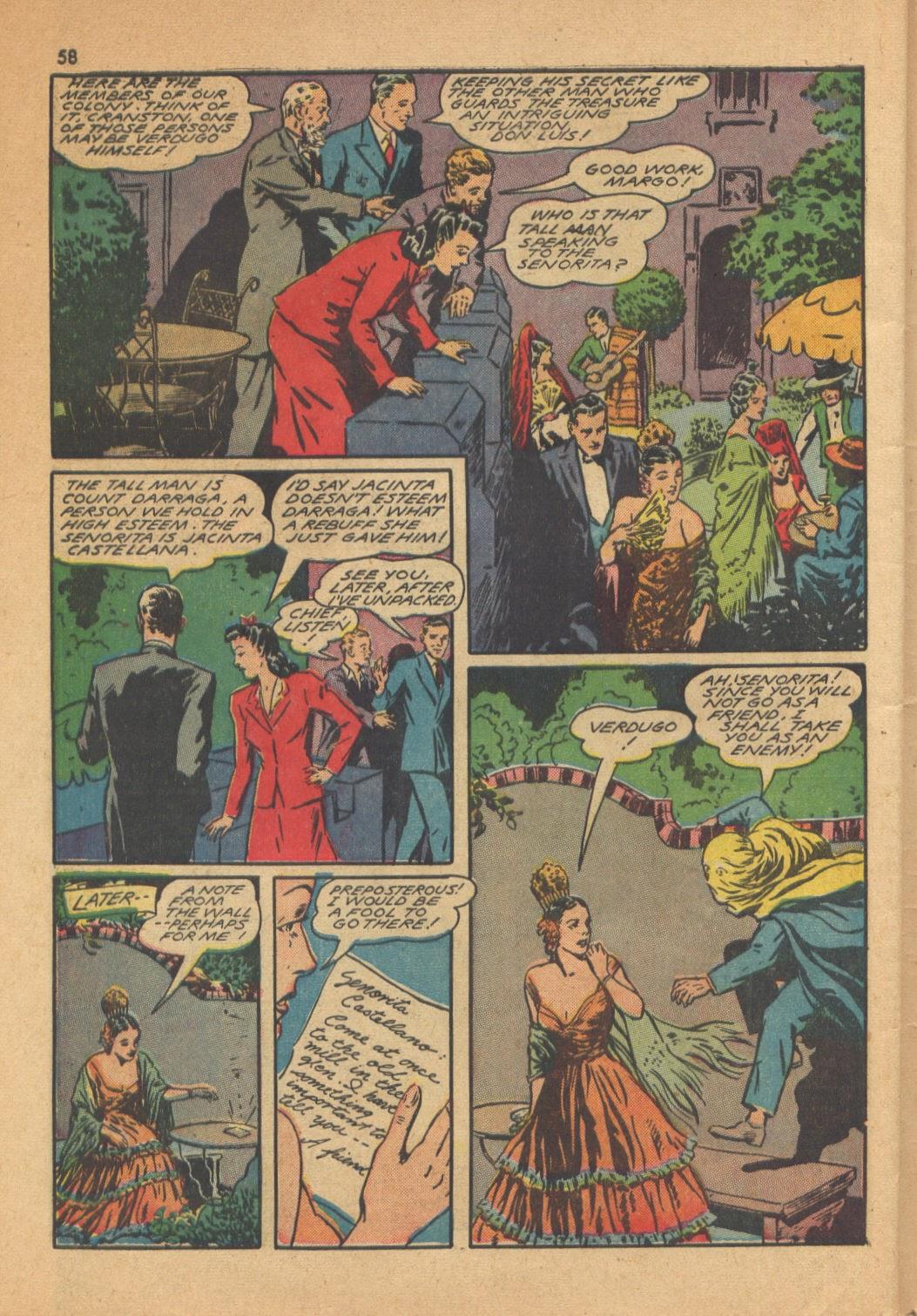 Read online Super-Magician Comics comic -  Issue #13 - 58