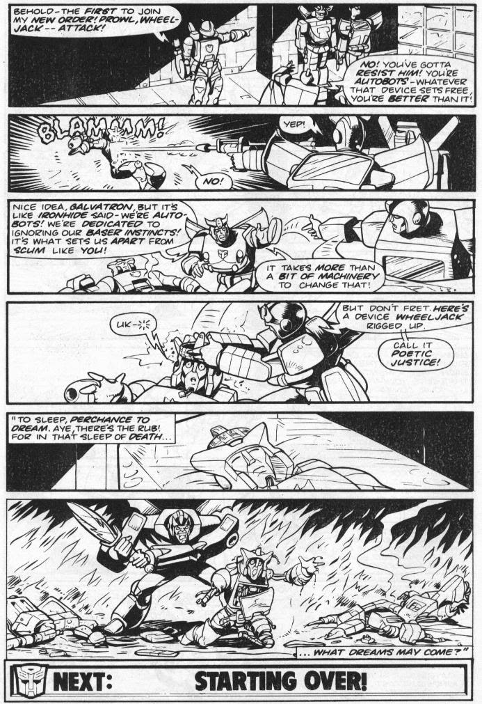 The Transformers (UK) 260 Page 12