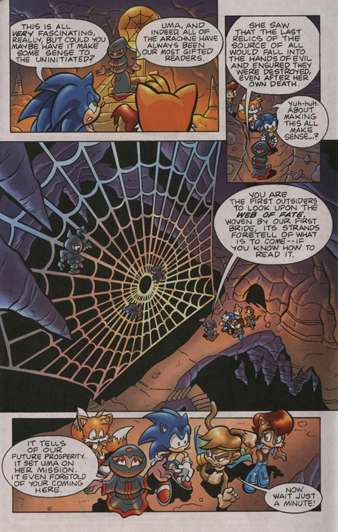 Read online Sonic Universe comic -  Issue #13 - 15