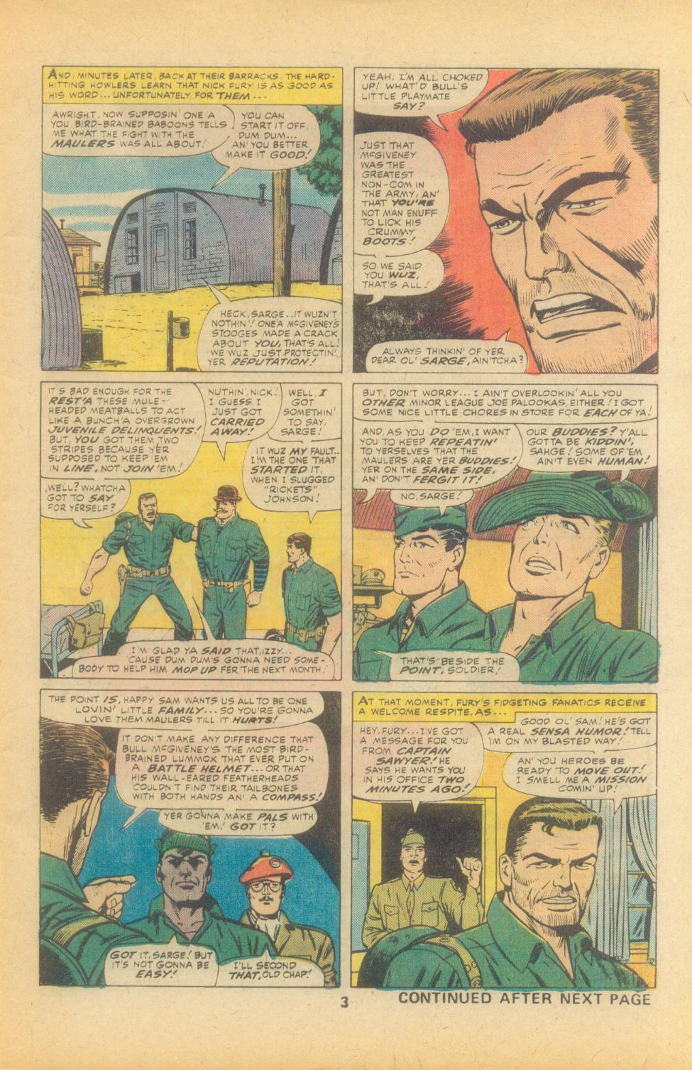 Read online Sgt. Fury comic -  Issue #135 - 5