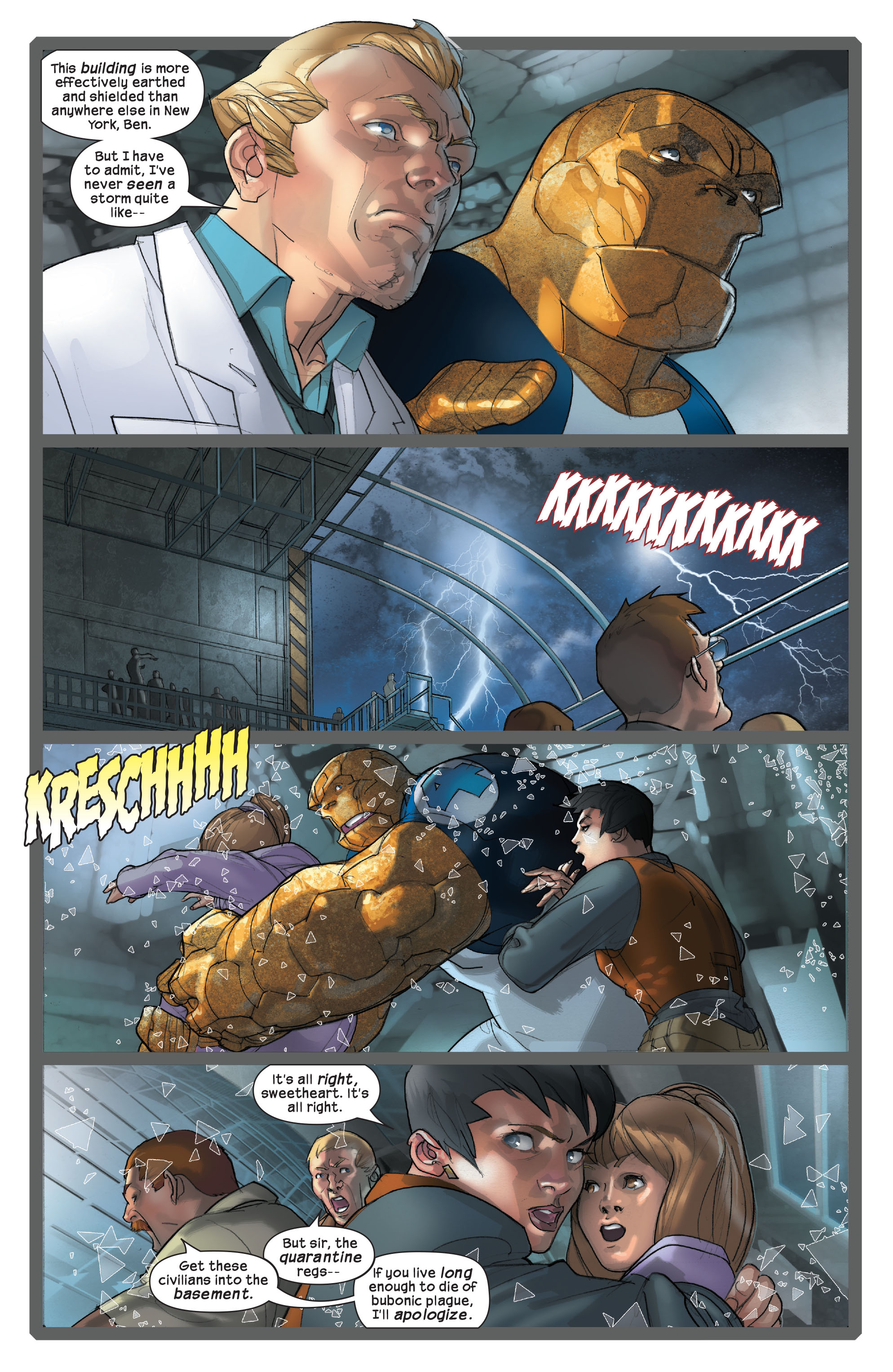 Read online Ultimate Fantastic Four (2004) comic -  Issue #42 - 21