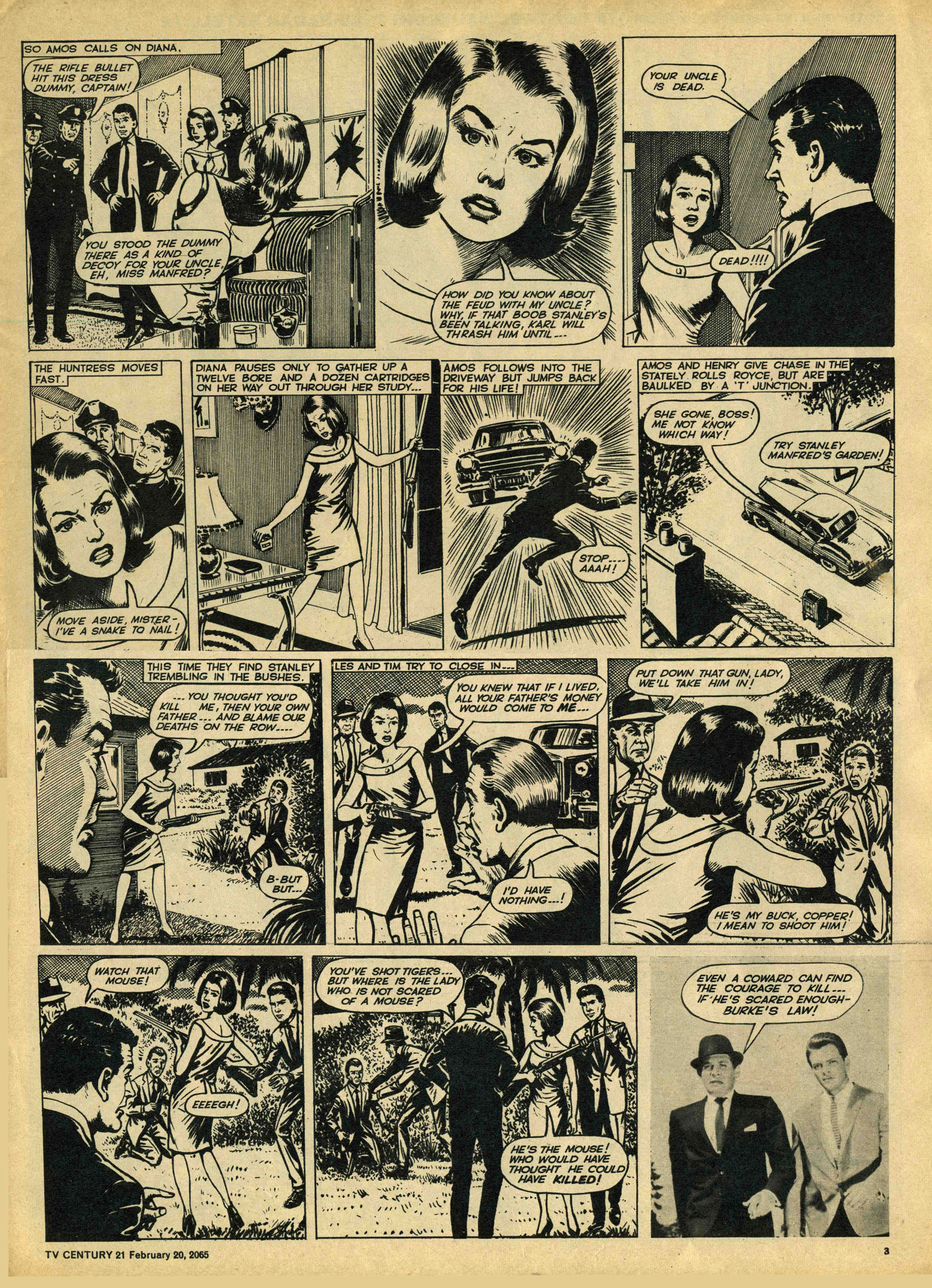 Read online TV Century 21 (TV 21) comic -  Issue #5 - 3