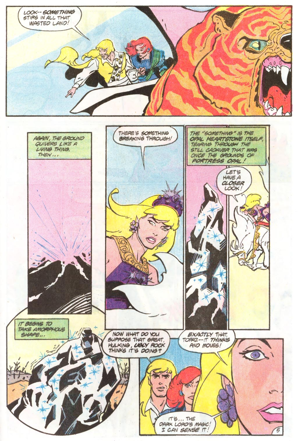 Read online Amethyst (1985) comic -  Issue #11 - 9