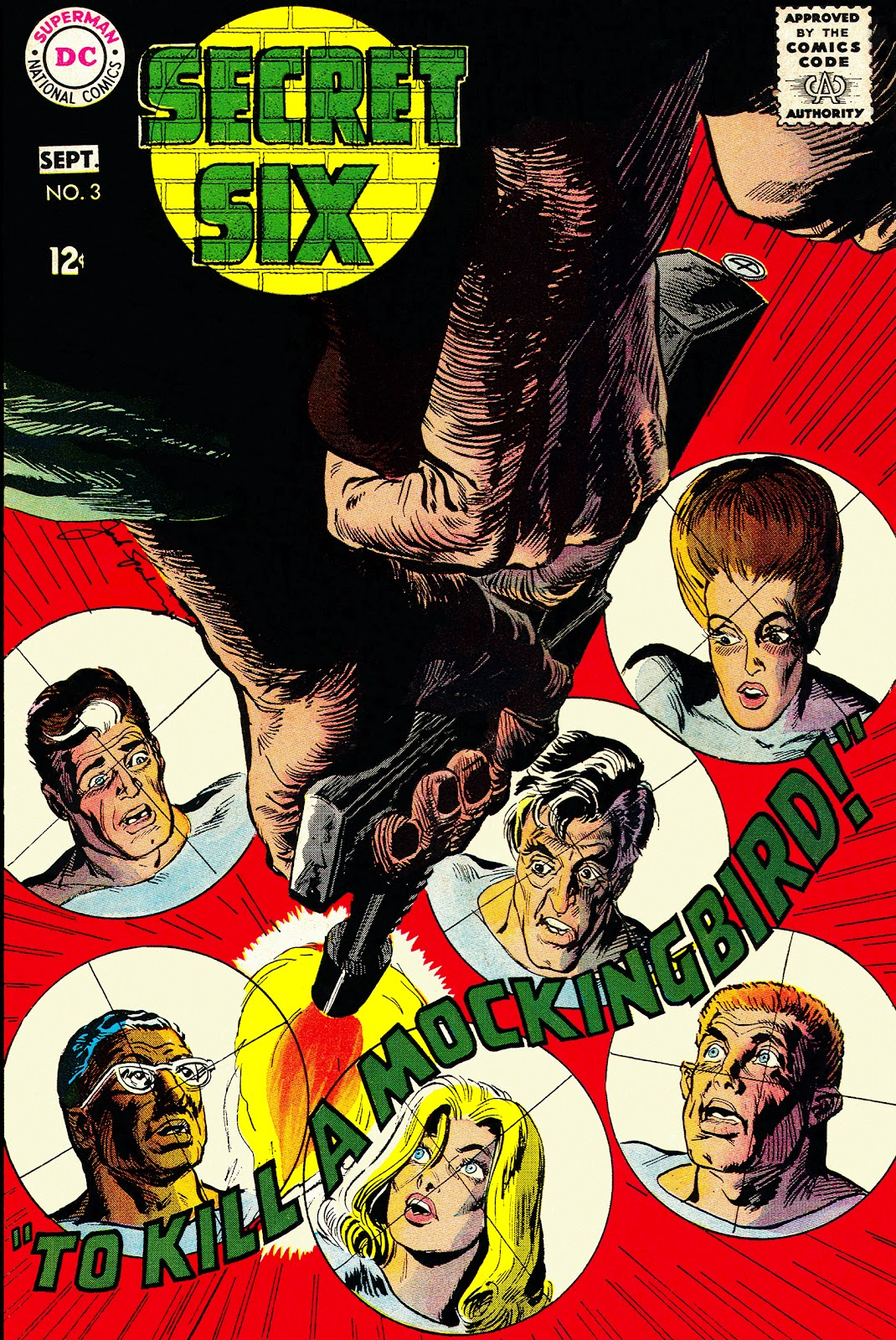 Secret Six (1968) issue 3 - Page 1