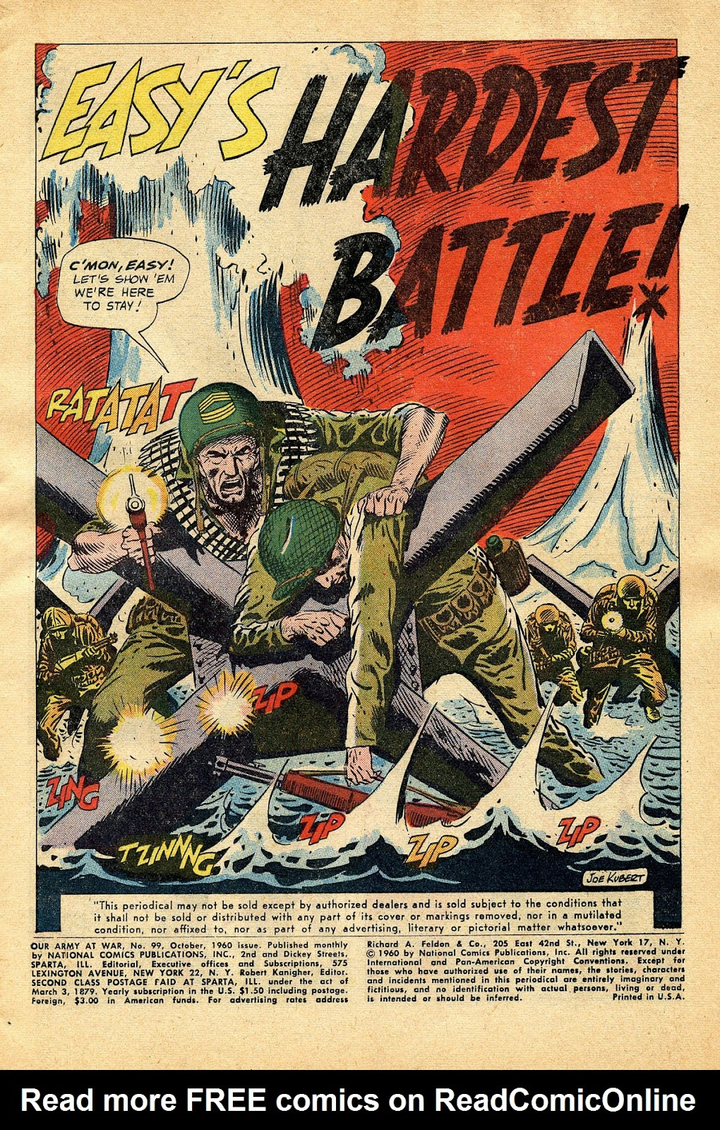 Our Army at War (1952) issue 99 - Page 3