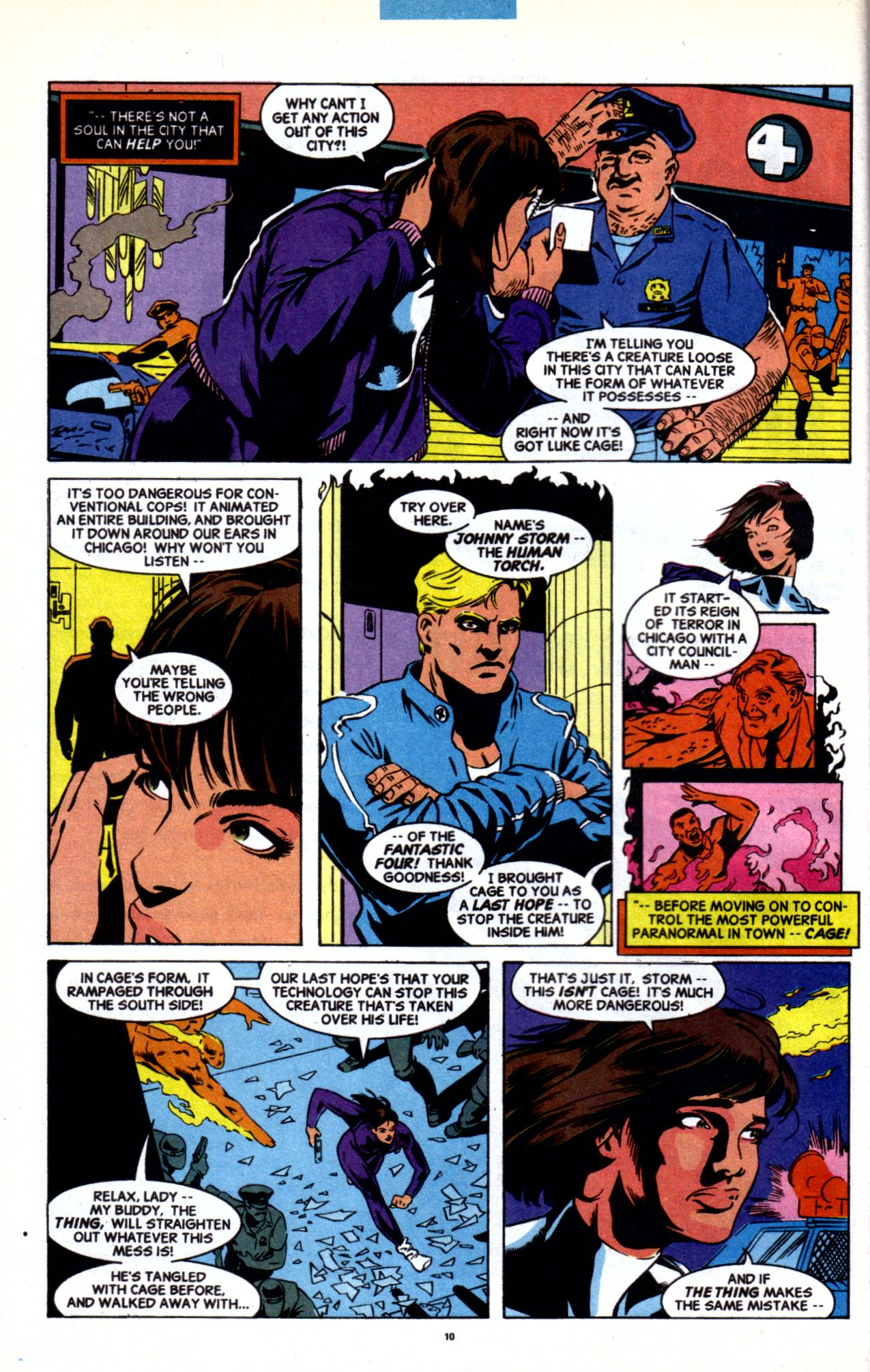 Cage (1992) issue 20 - Page 7