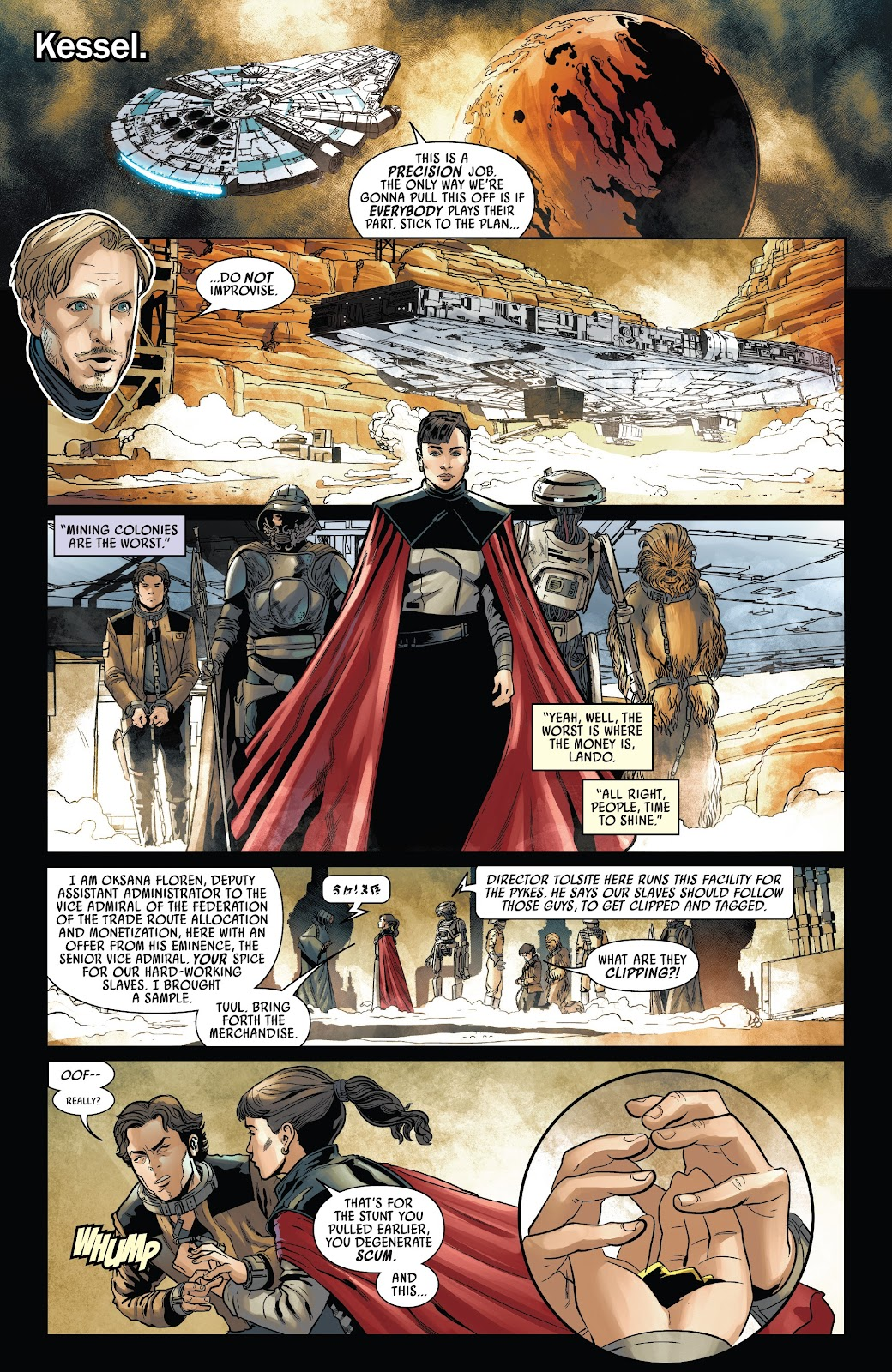 Read online Solo: A Star Wars Story Adaptation comic -  Issue #4 - 9
