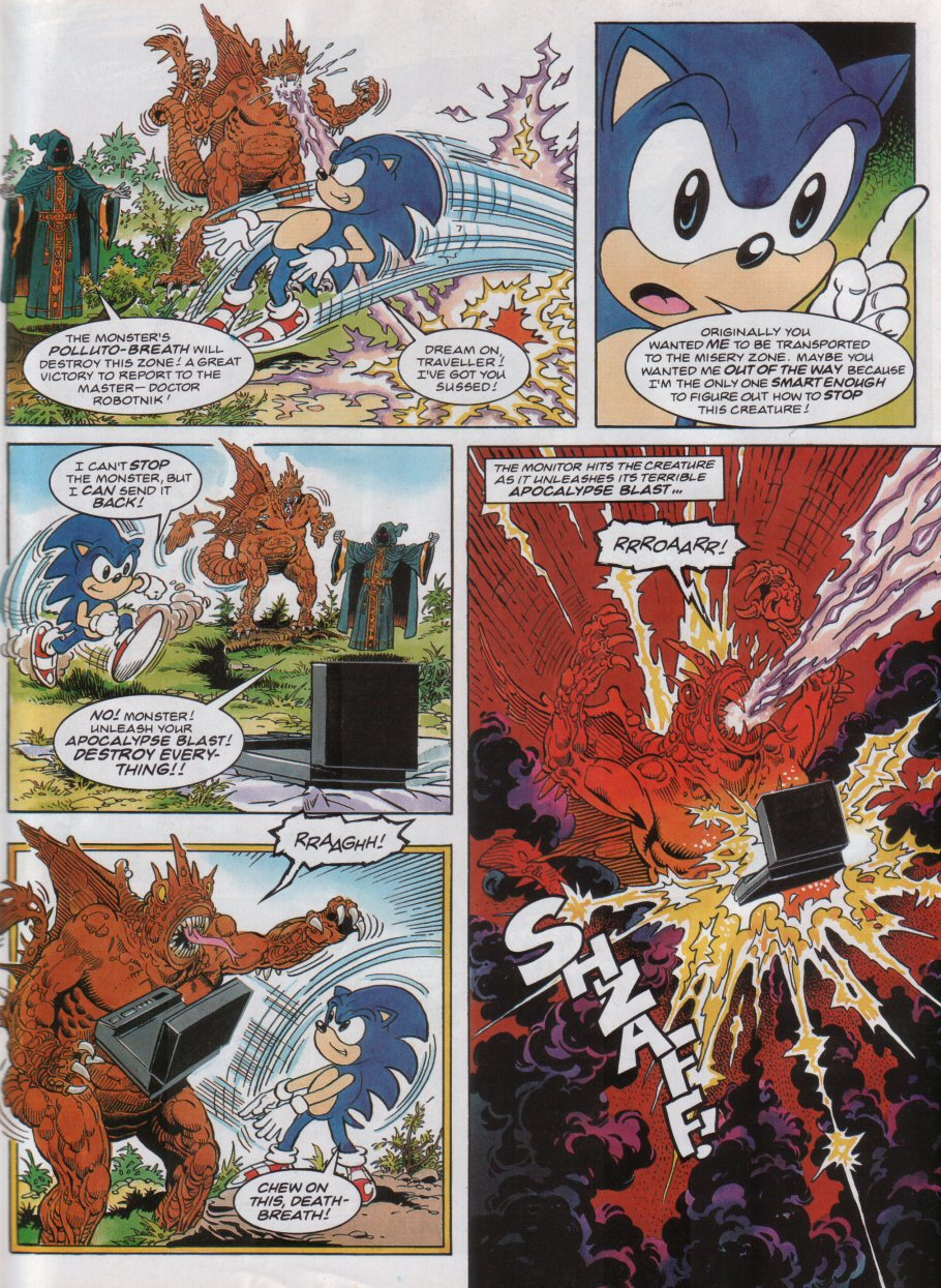 Read online Sonic the Comic comic -  Issue #32 - 8