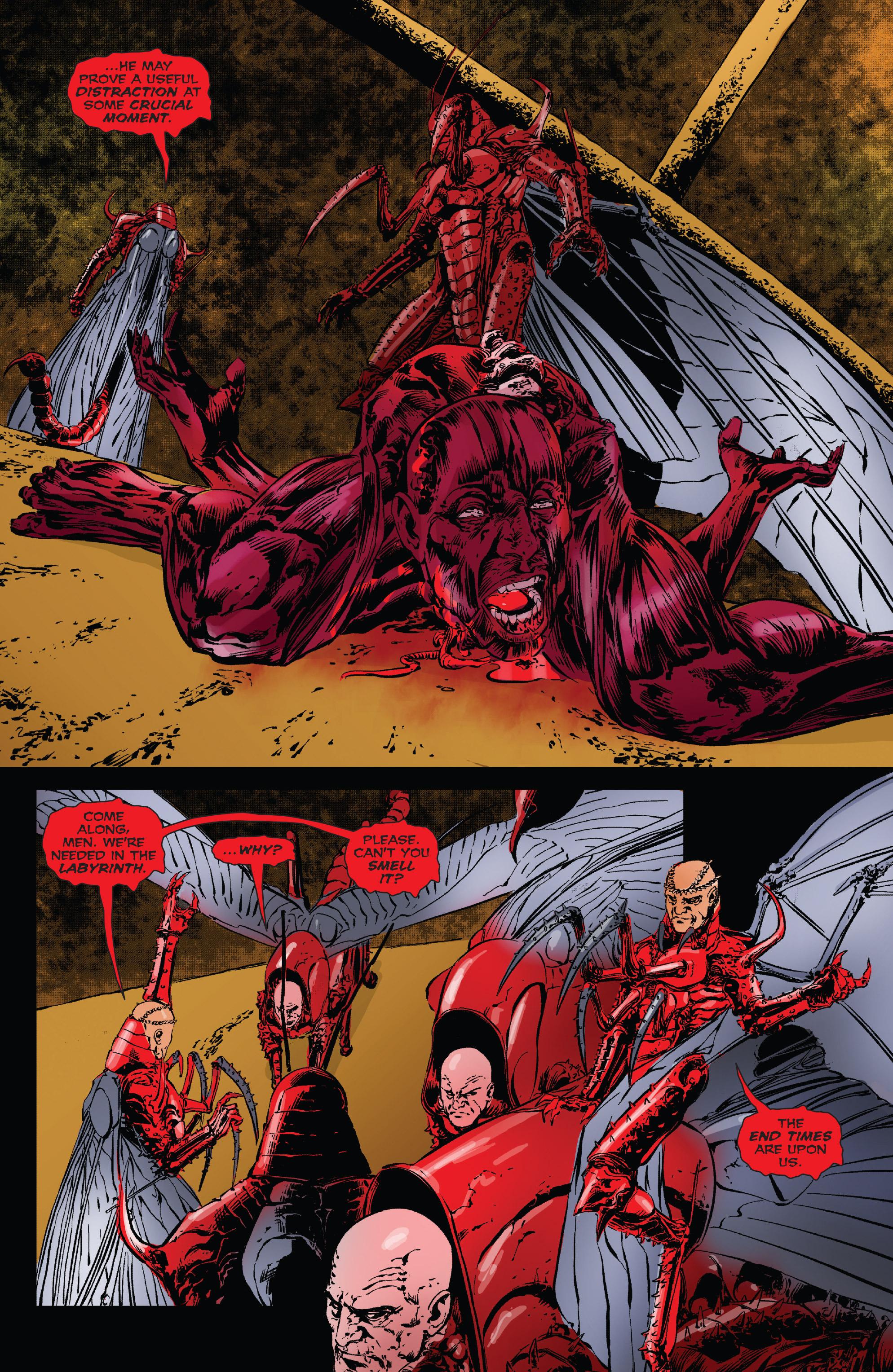 Read online Clive Barker's Hellraiser: The Dark Watch comic -  Issue # TPB 3 - 109