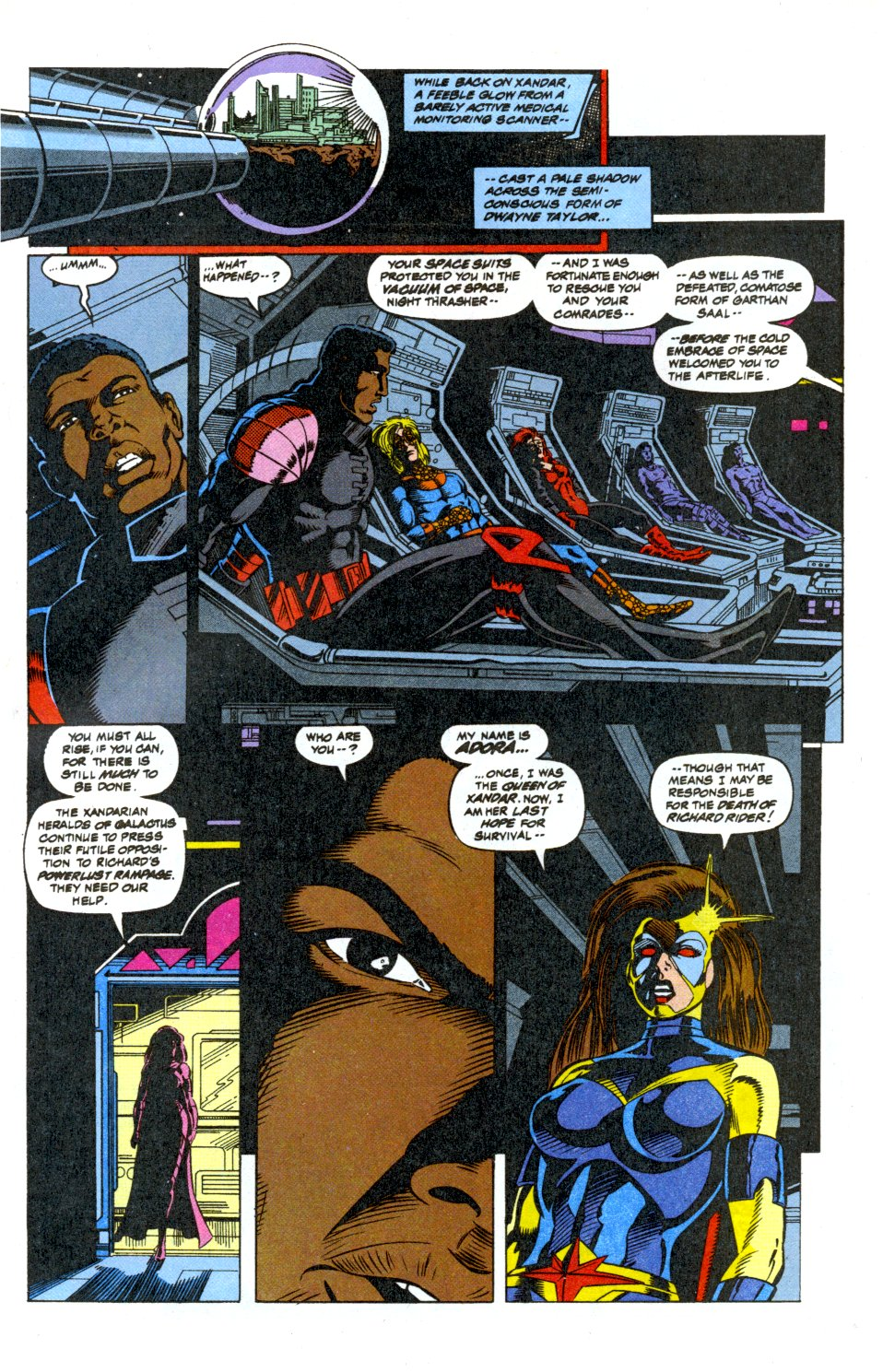 The New Warriors Issue #42 #46 - English 14