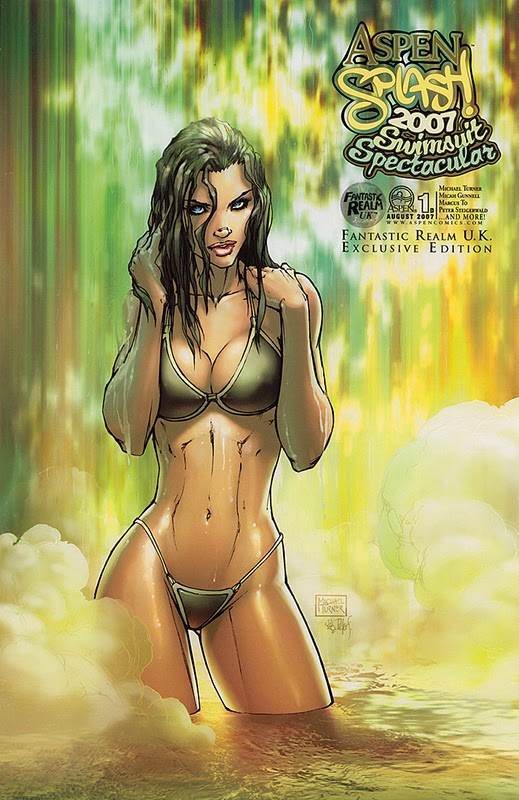 Read online Aspen Splash: Swimsuit Spectacular comic -  Issue # Issue 2007 - 4