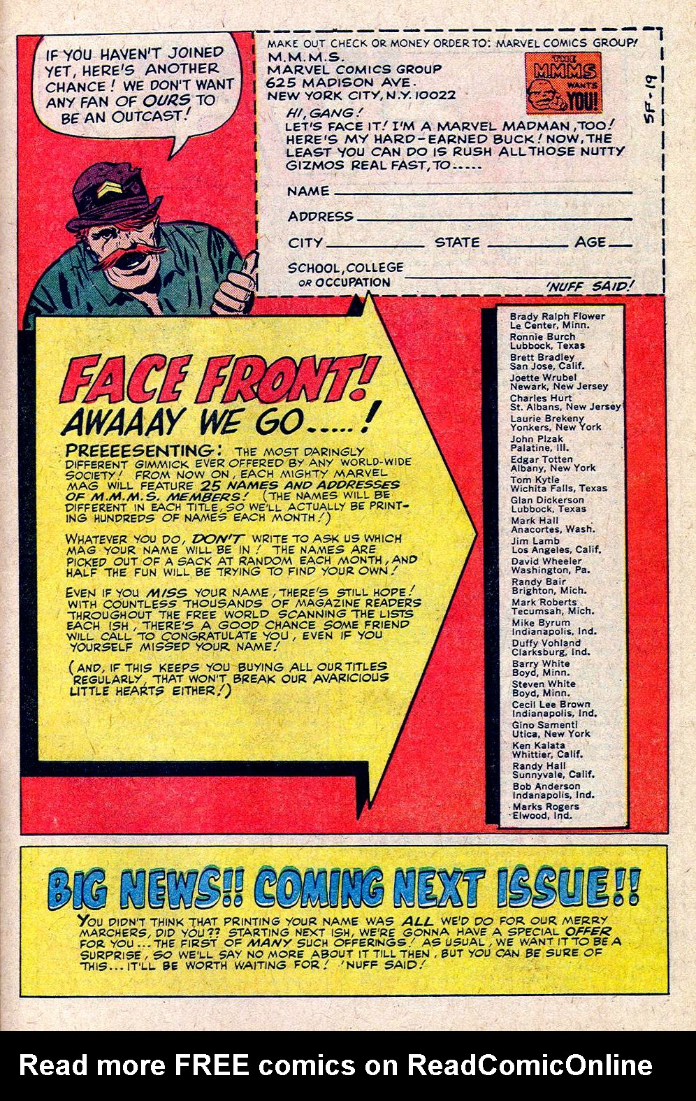 Read online Sgt. Fury comic -  Issue #19 - 31