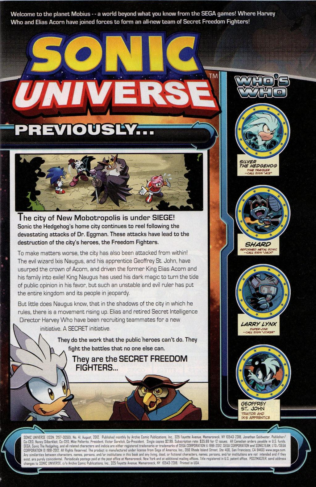 Read online Sonic Universe comic -  Issue #41 - 3